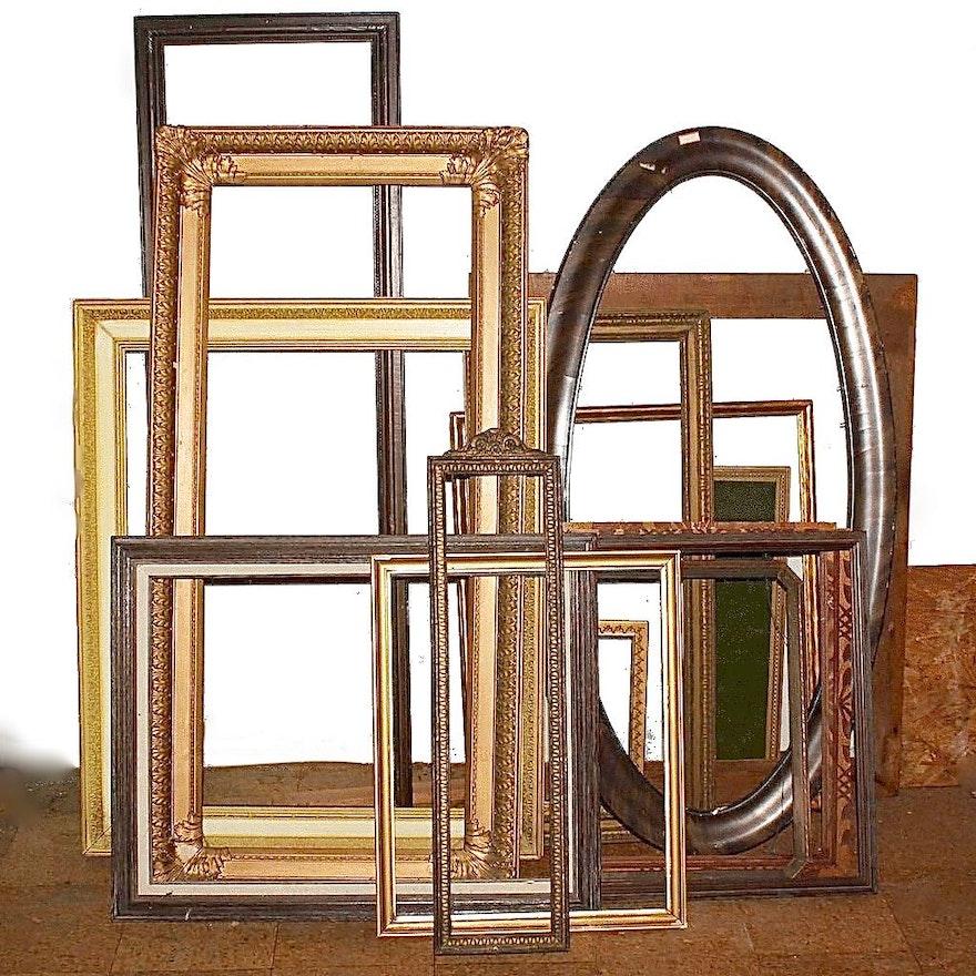 Generous Wood Art Frame Assortment : EBTH