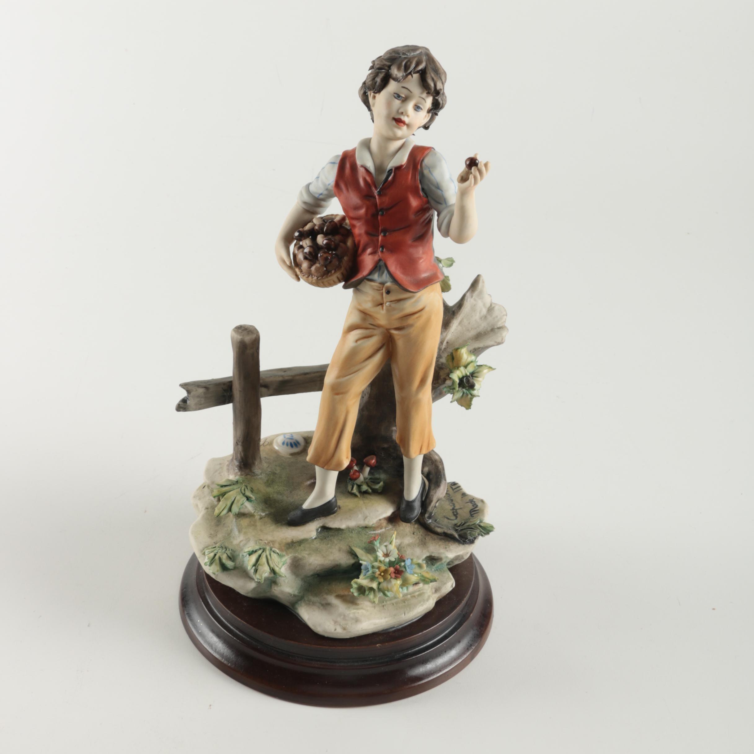 """Vintage Capodimonte """"Romany Caravan Collection"""" Figurine"""