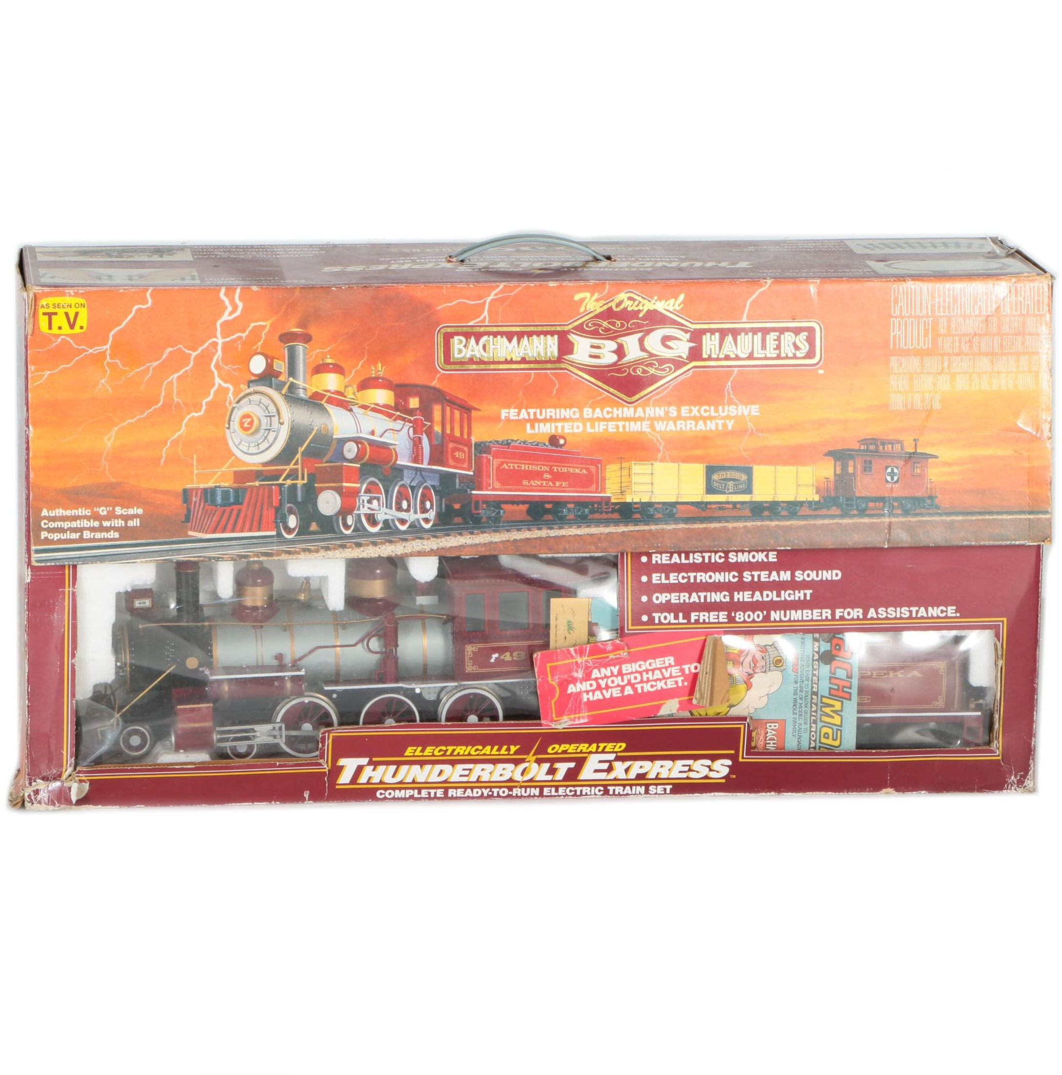 Big W Electric Train Set Not Lossing Wiring Diagram Bachmann Haulers Quot Thunderbolt Express Ebth Large Sets Trains