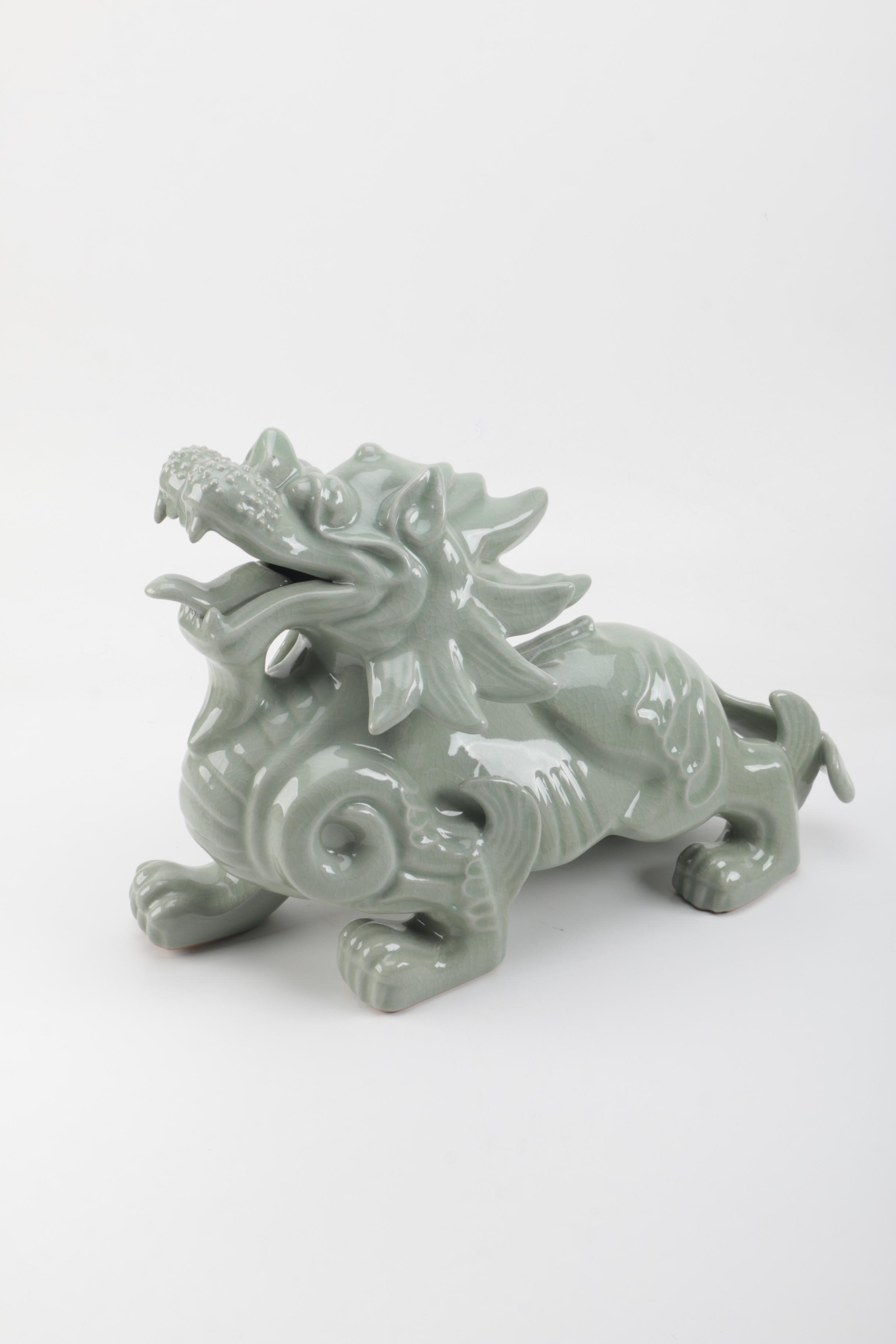 Decorative Ceramic Dragon