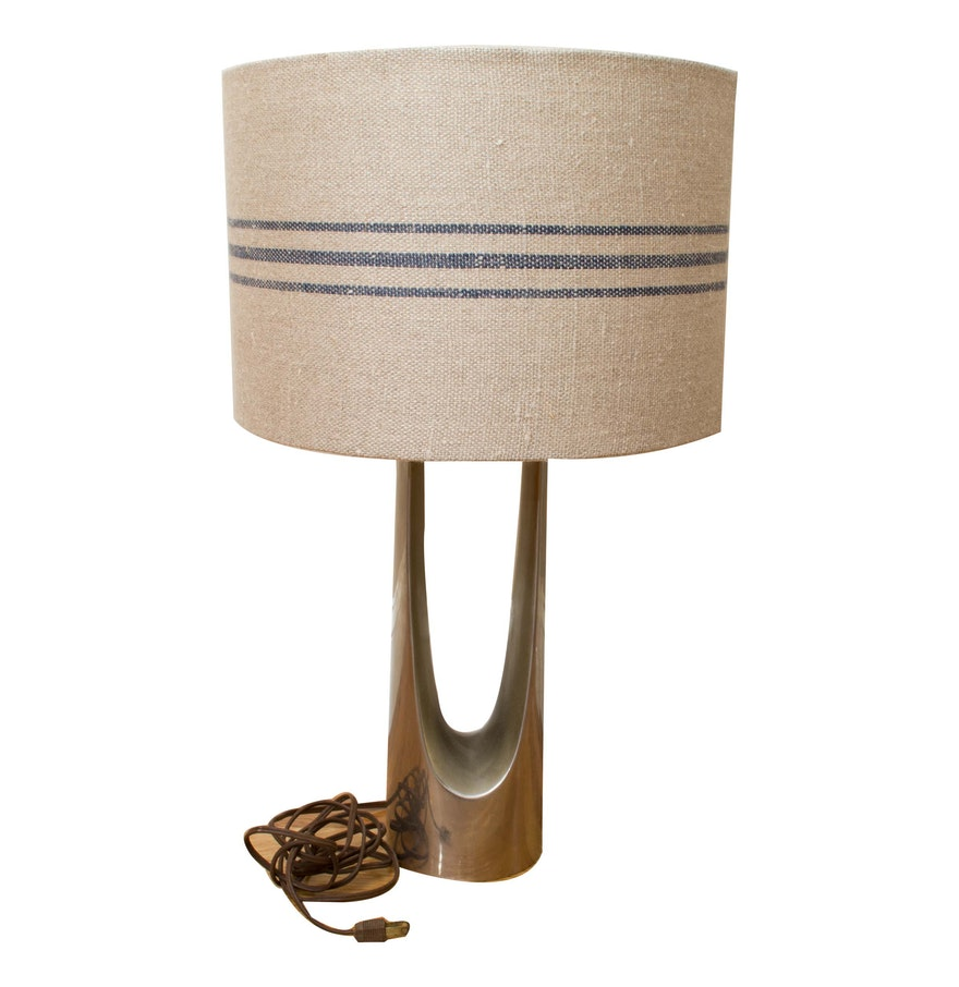 Vintage mid century modern table lamp ebth vintage mid century modern table lamp geotapseo Image collections