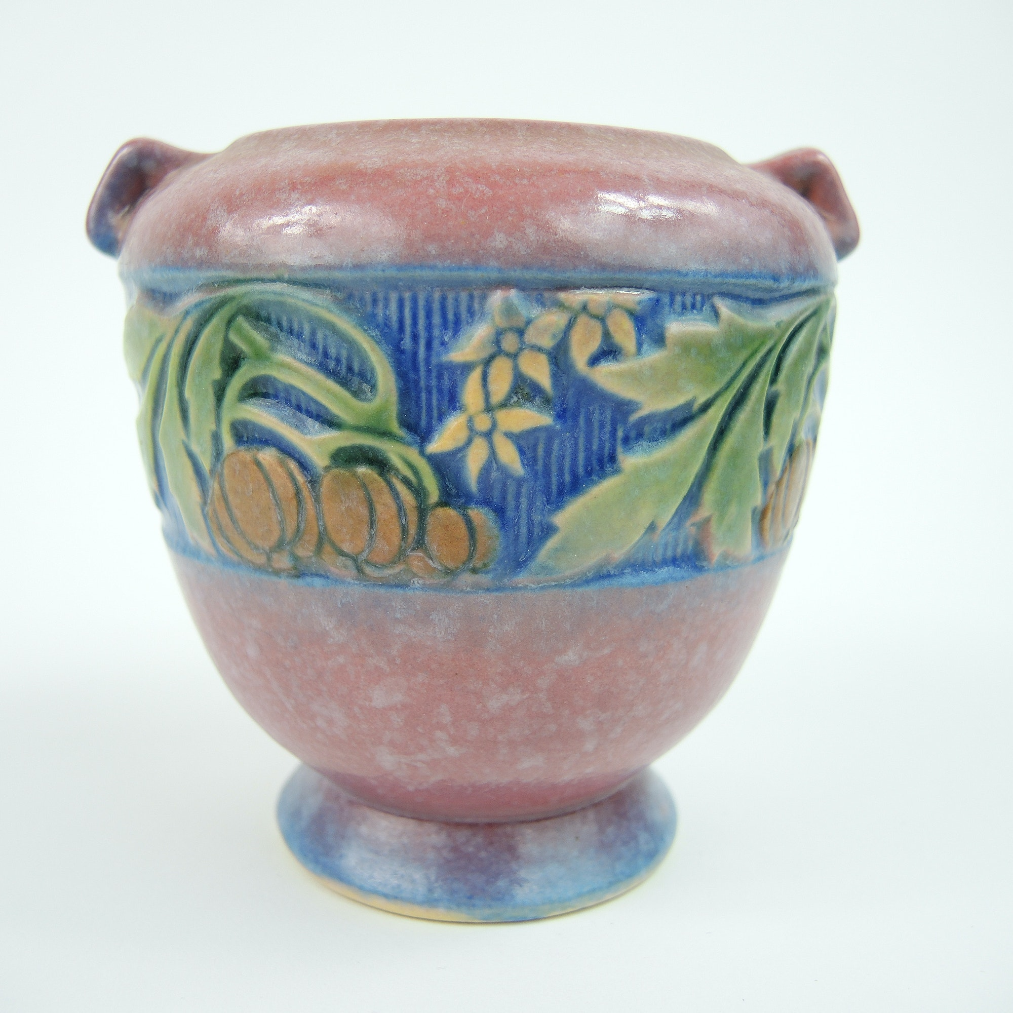 "Early 20th Century Roseville Pottery ""Baneda"" Urn"