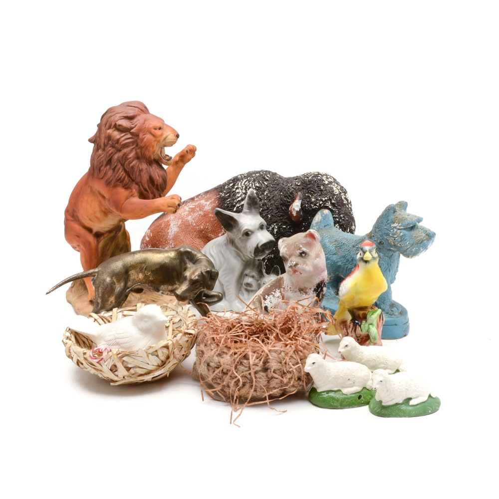 Group of Animal Figurines