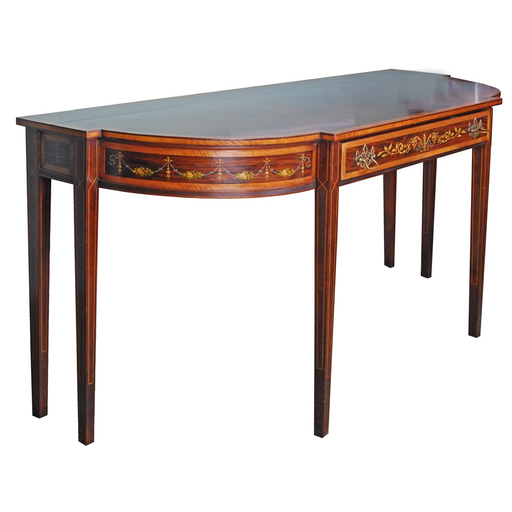 Federal Style Console Table