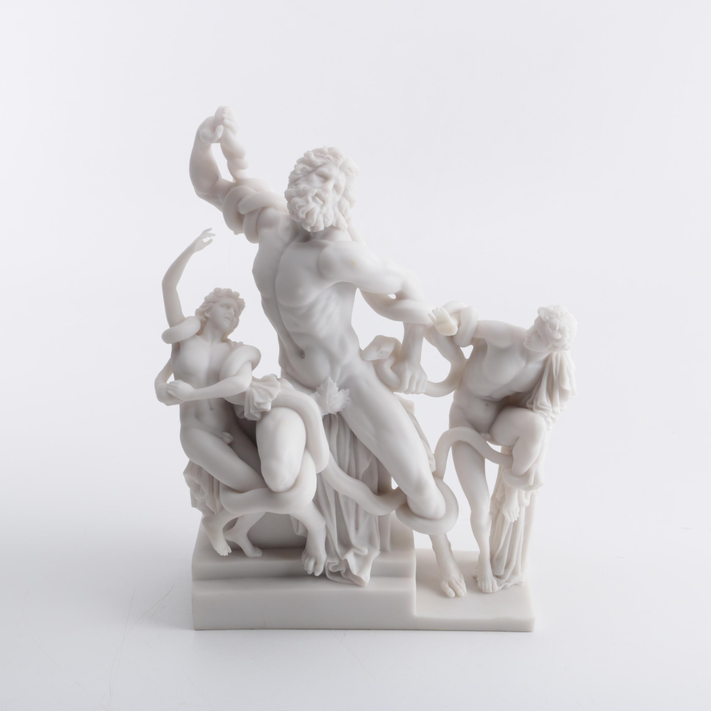 """Resin Reproduction """"Laocoön and His Sons"""" Sculpture"""