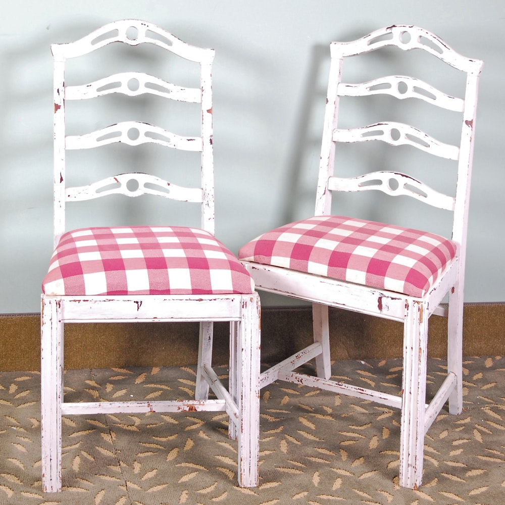 Pair of Farmhouse Style Chairs