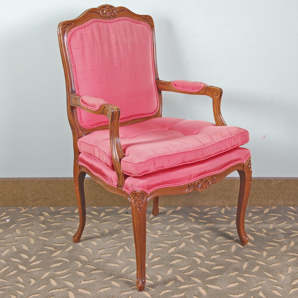 Louis XV Style Armchair by Century Chair Company