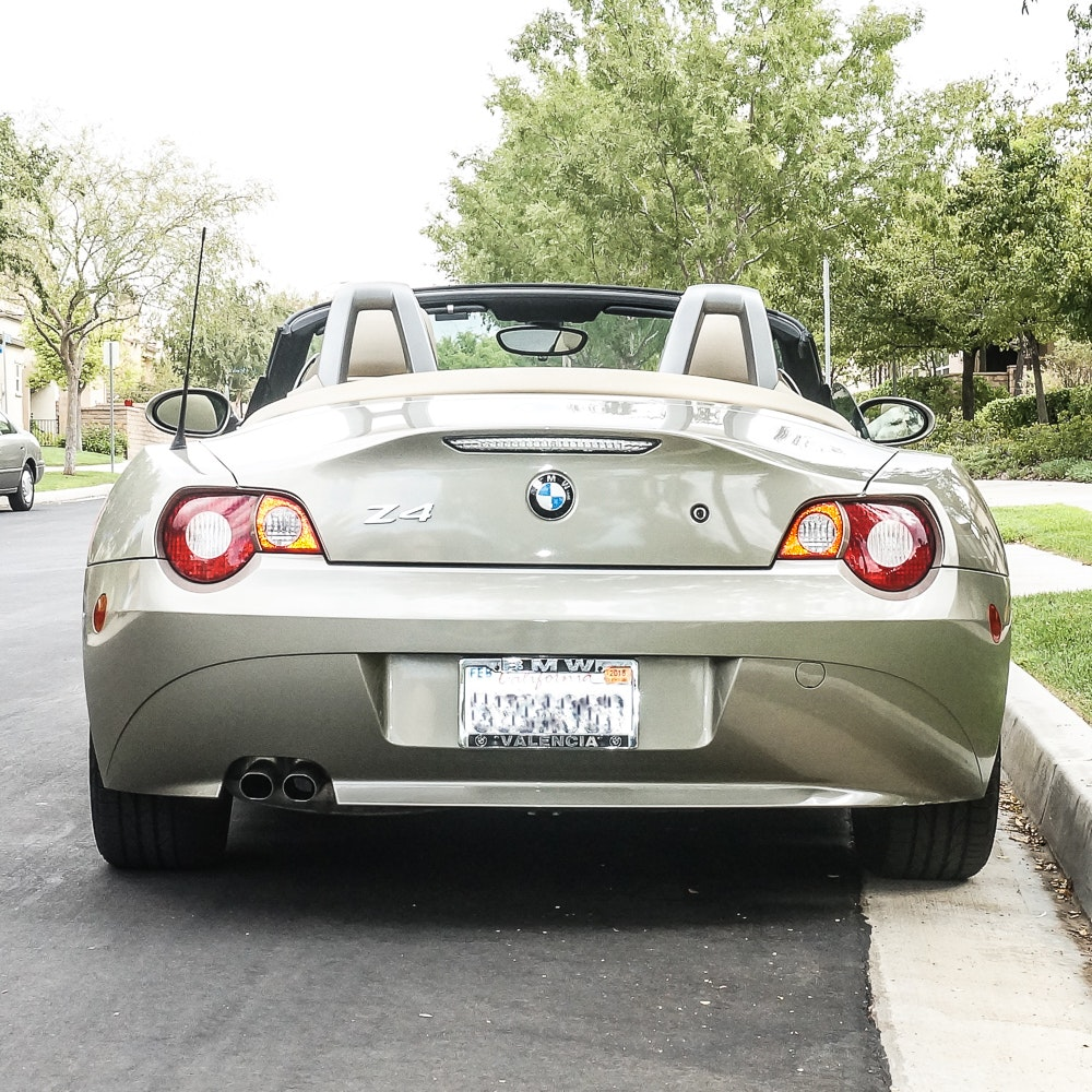 Bmw Z4 Convertible Top Motor: 2005 BMW Z4 2.5i Convertible : EBTH