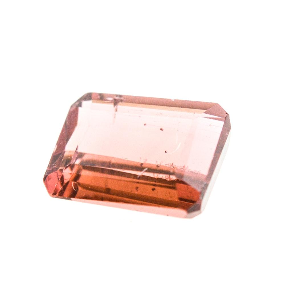 Loose 1.54 Carat Pink Tourmaline Gemstone