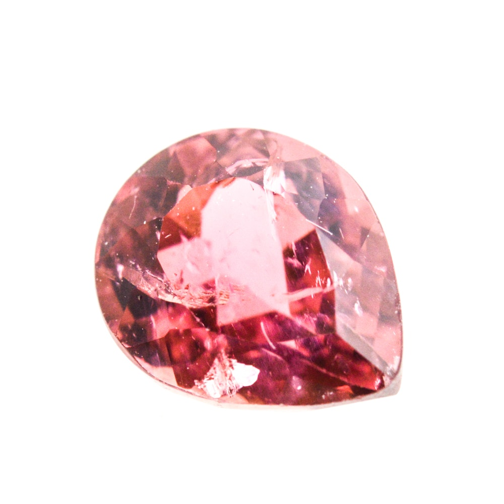 Loose 2.06 Carat Pink Tourmaline Gemstone