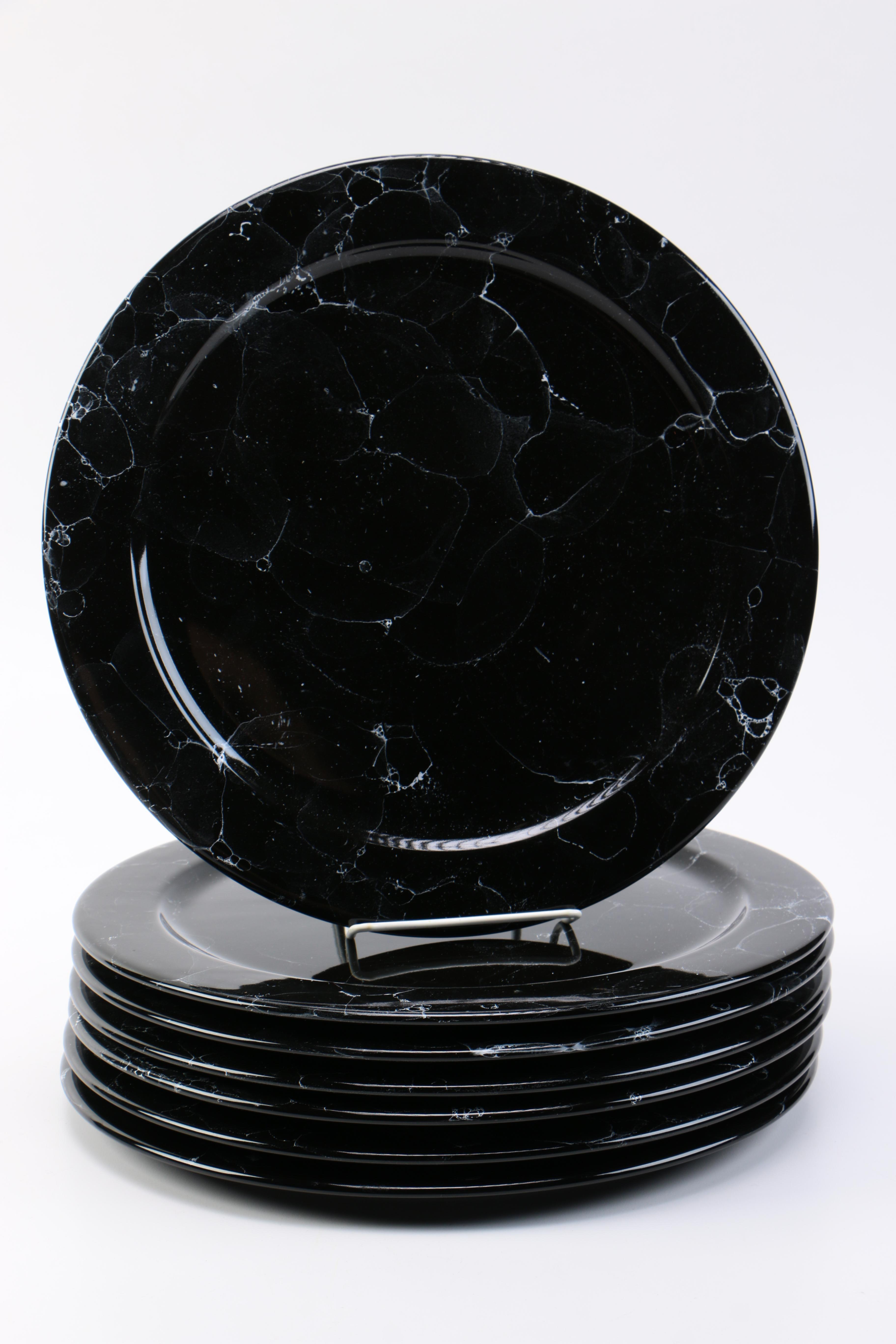 Waechtersbach  Marble Black  Ceramic Plates ... & Waechtersbach