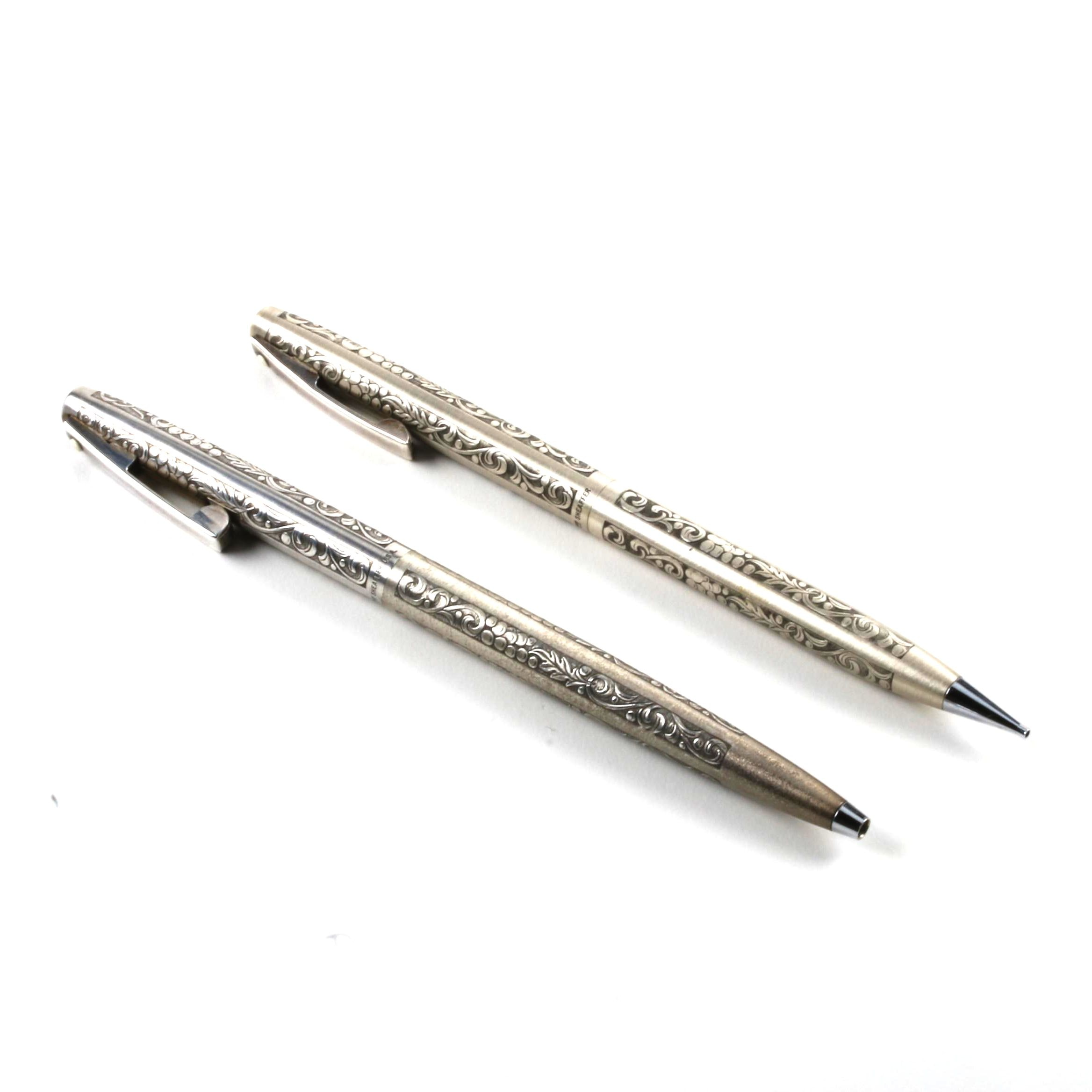 Sheaffer Sterling Silver Pen and Pencil Set