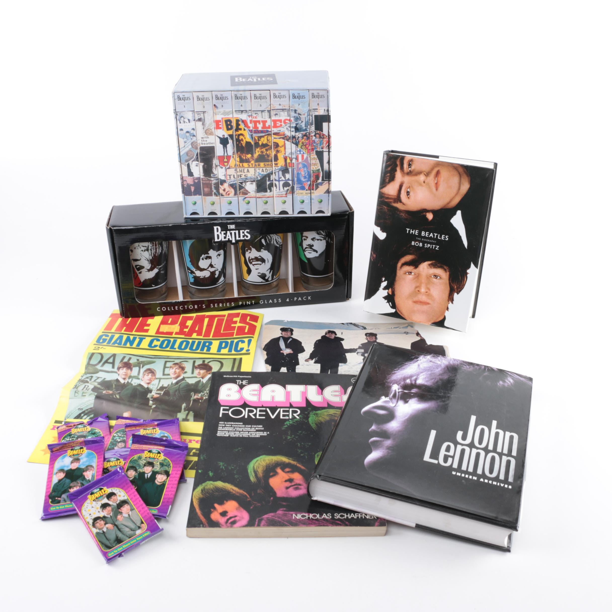 Beatles Memorabilia, Books and Video Cassettes