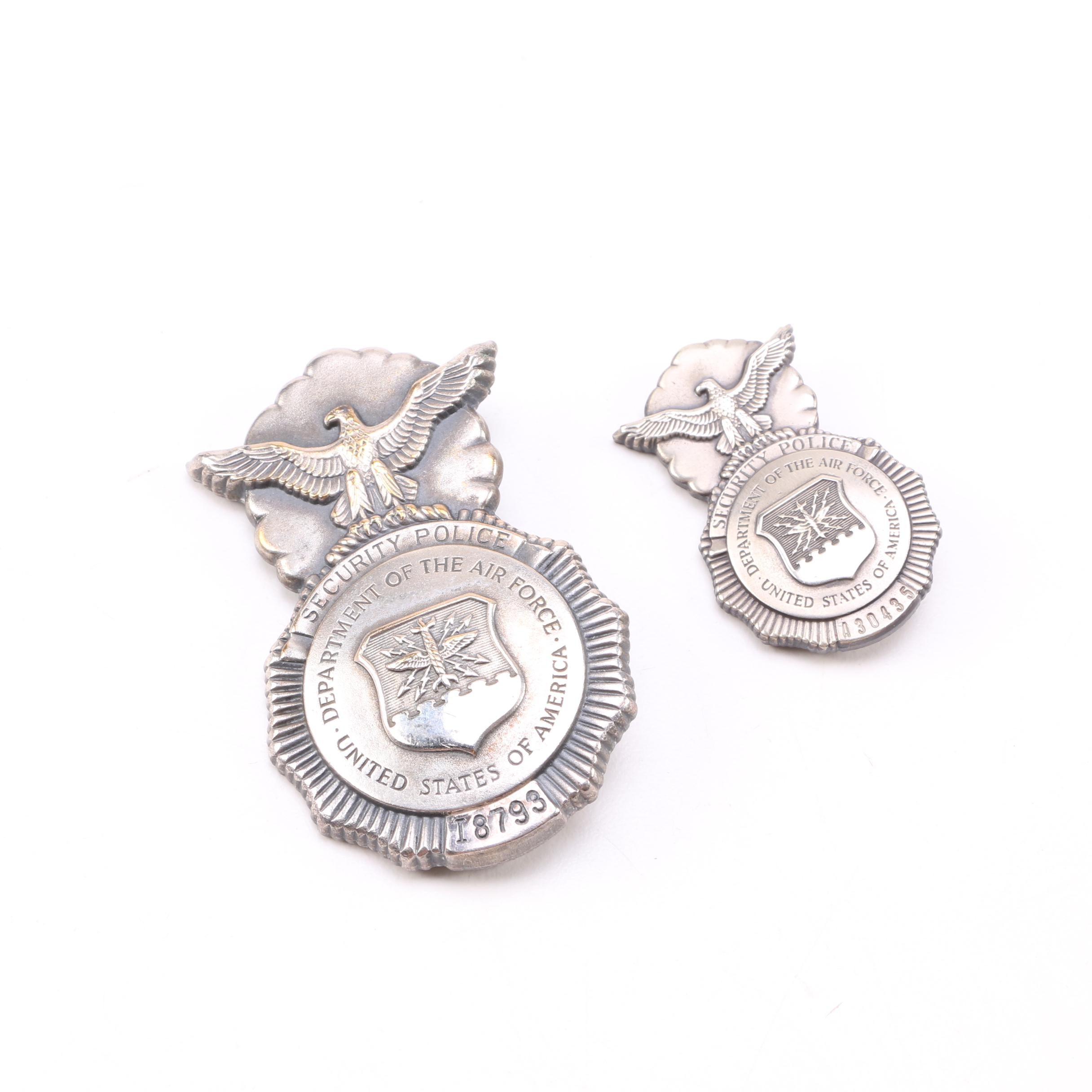 United States of America Air Force Pins