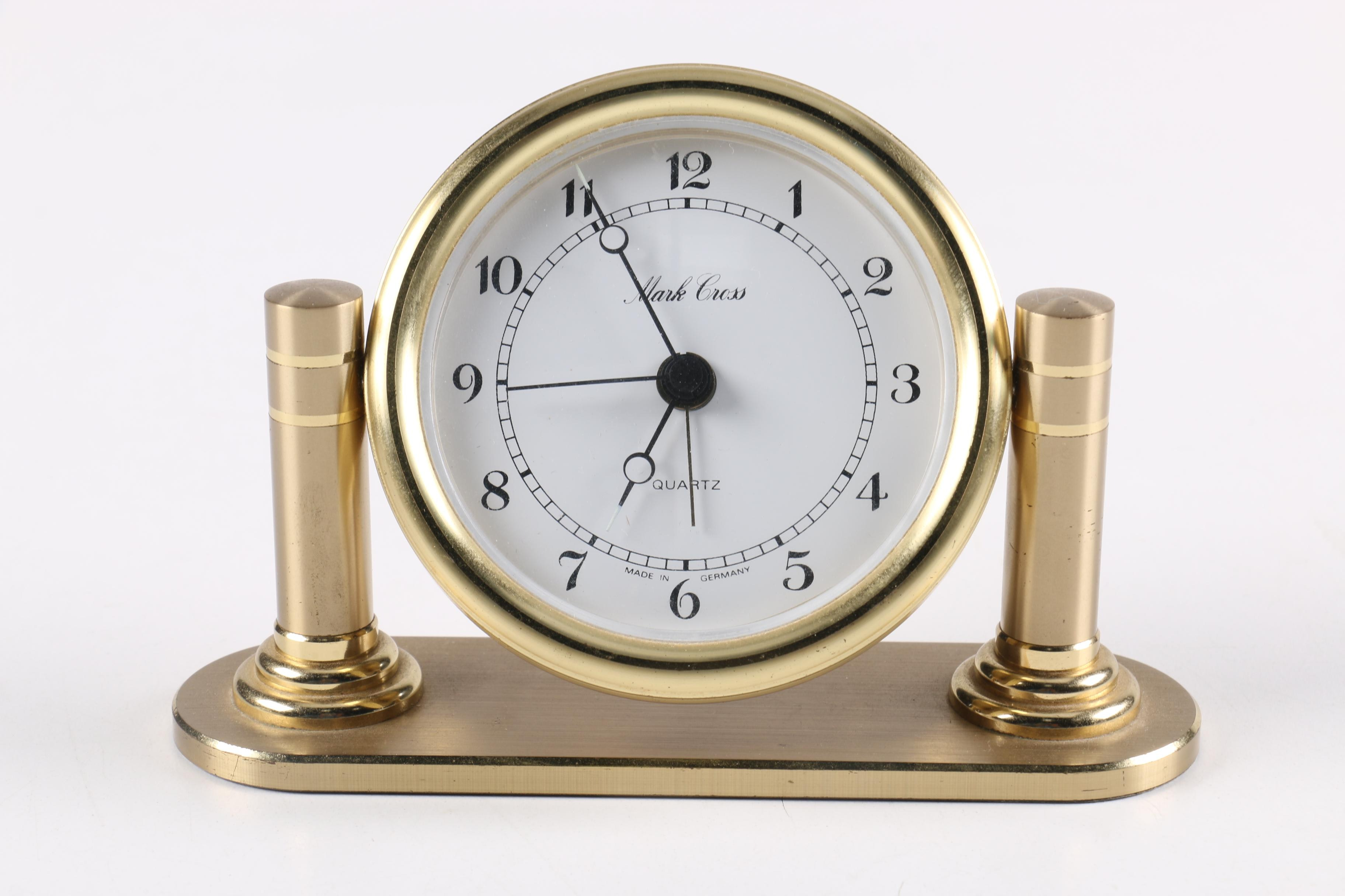 Mark Cross German Made Mantle Clock
