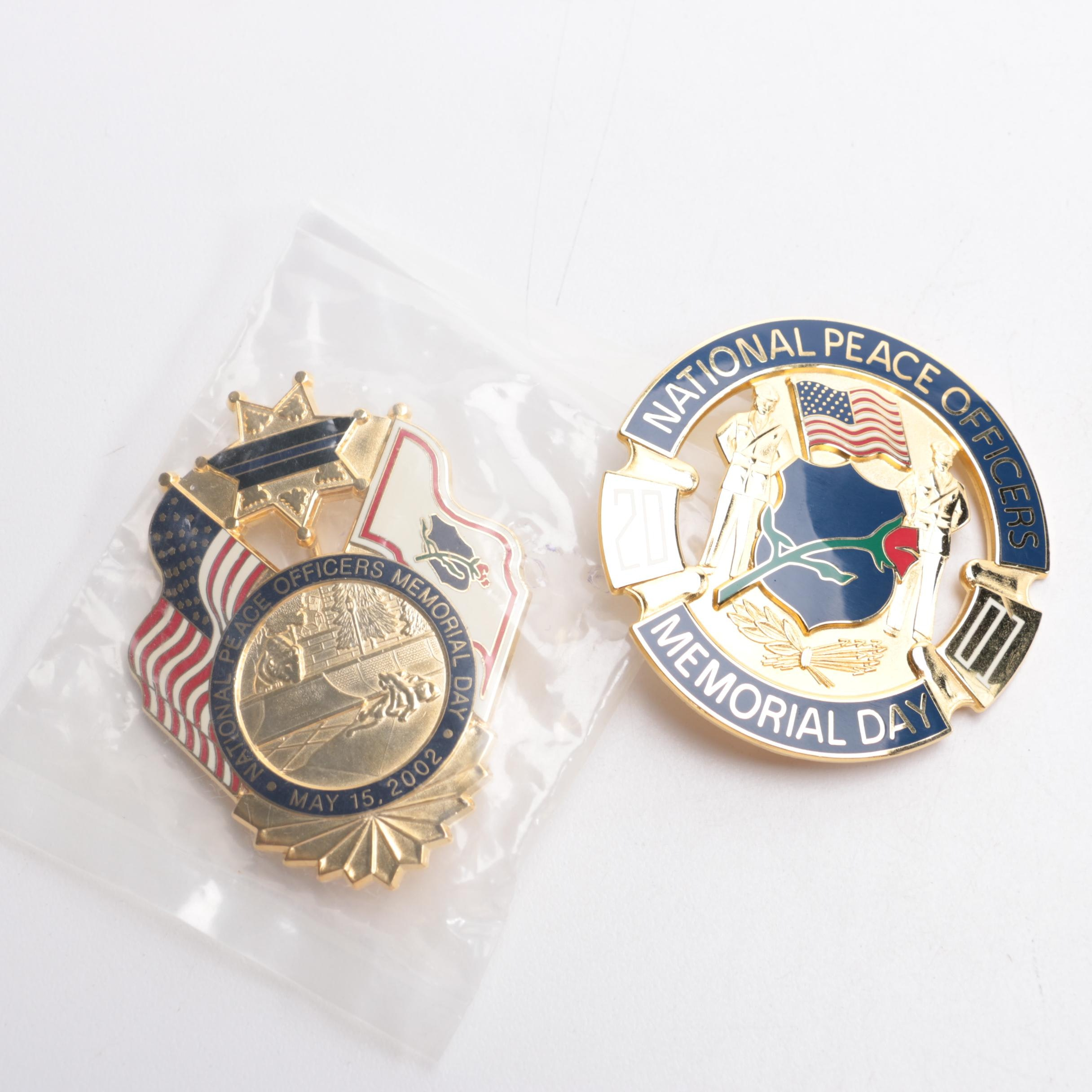 National Peace Officer  Memorial Day Pins