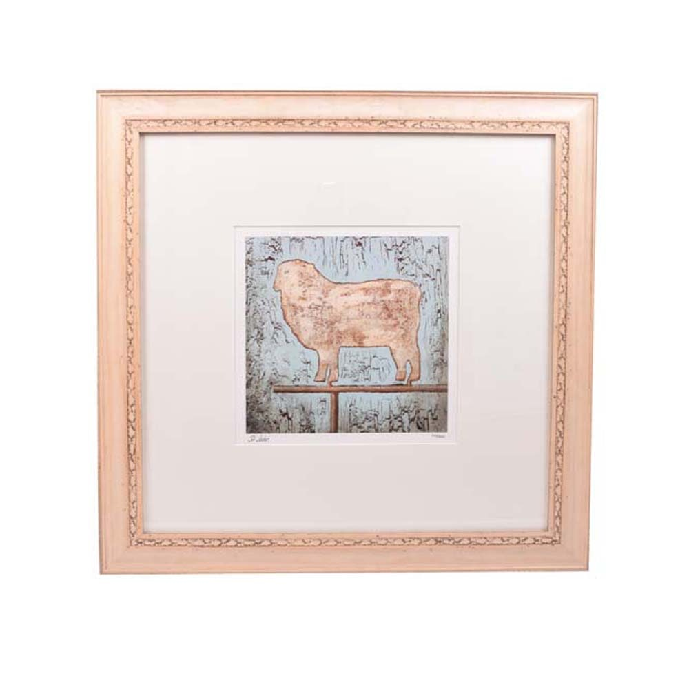 "St. John Giclee Print on Somerset Paper ""Sheep II"""