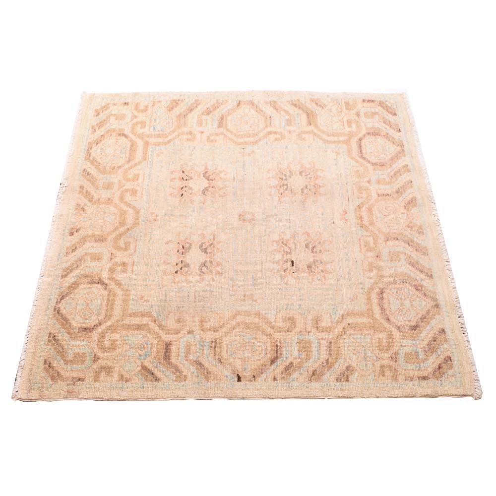 Power Loomed Pastel Accent Rug
