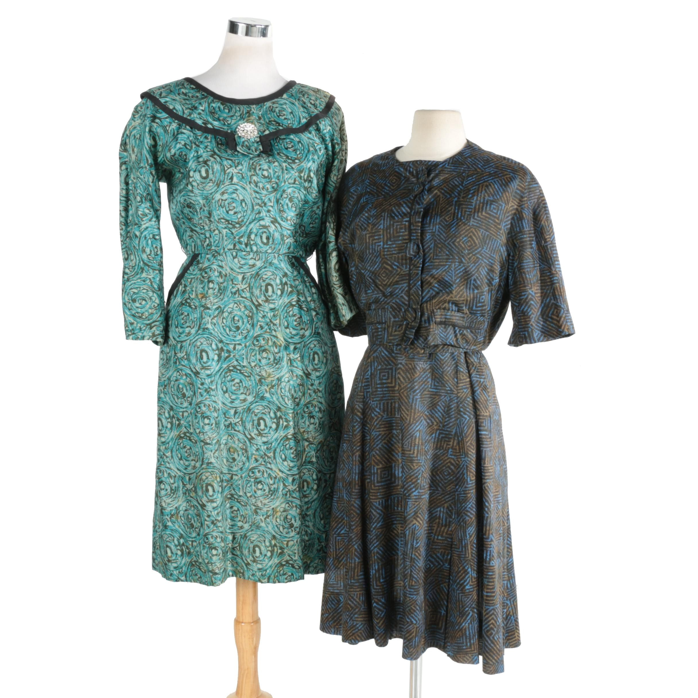 A Pair of Vintage Dresses