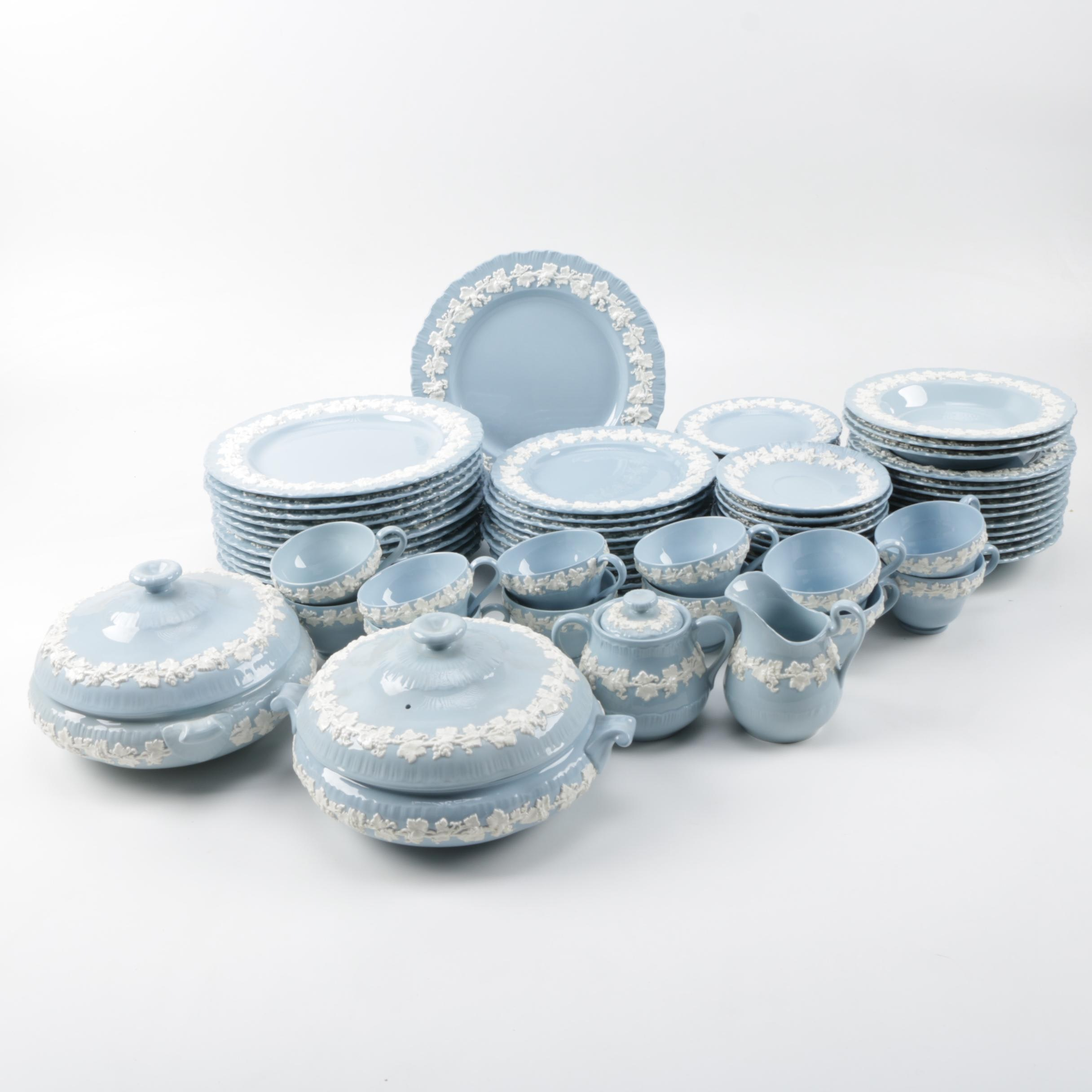 Wedgwood Queensware Tableware for Twelve