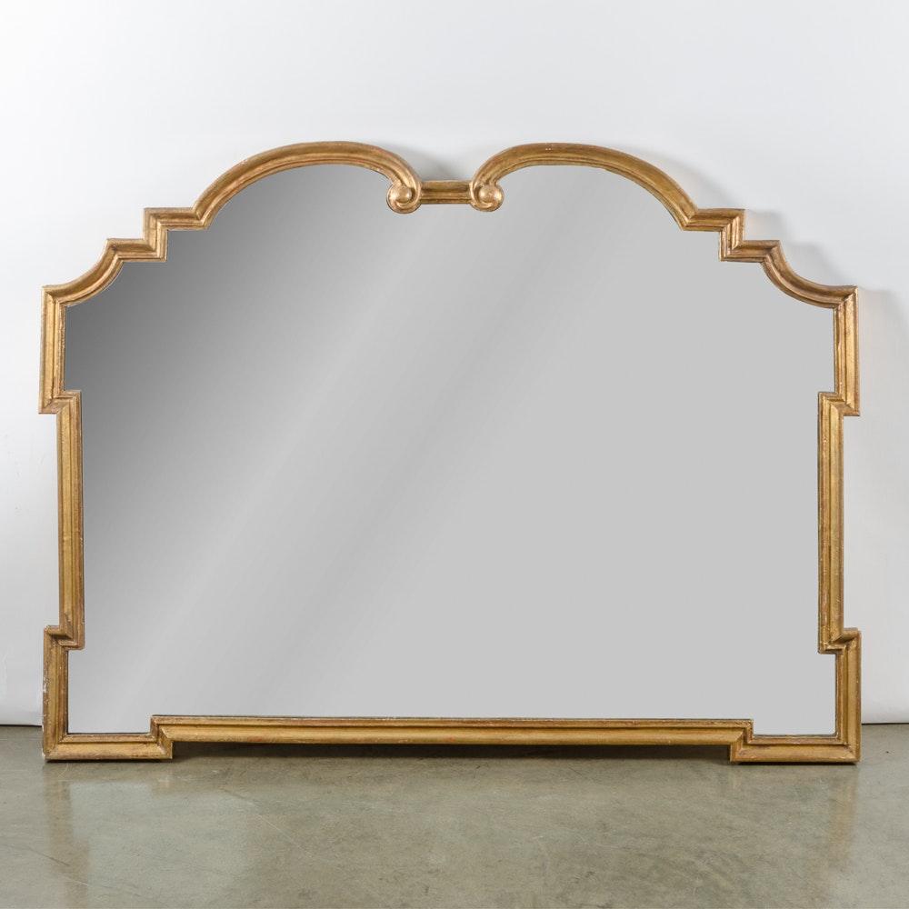 Regency Style Framed Wall Mirror