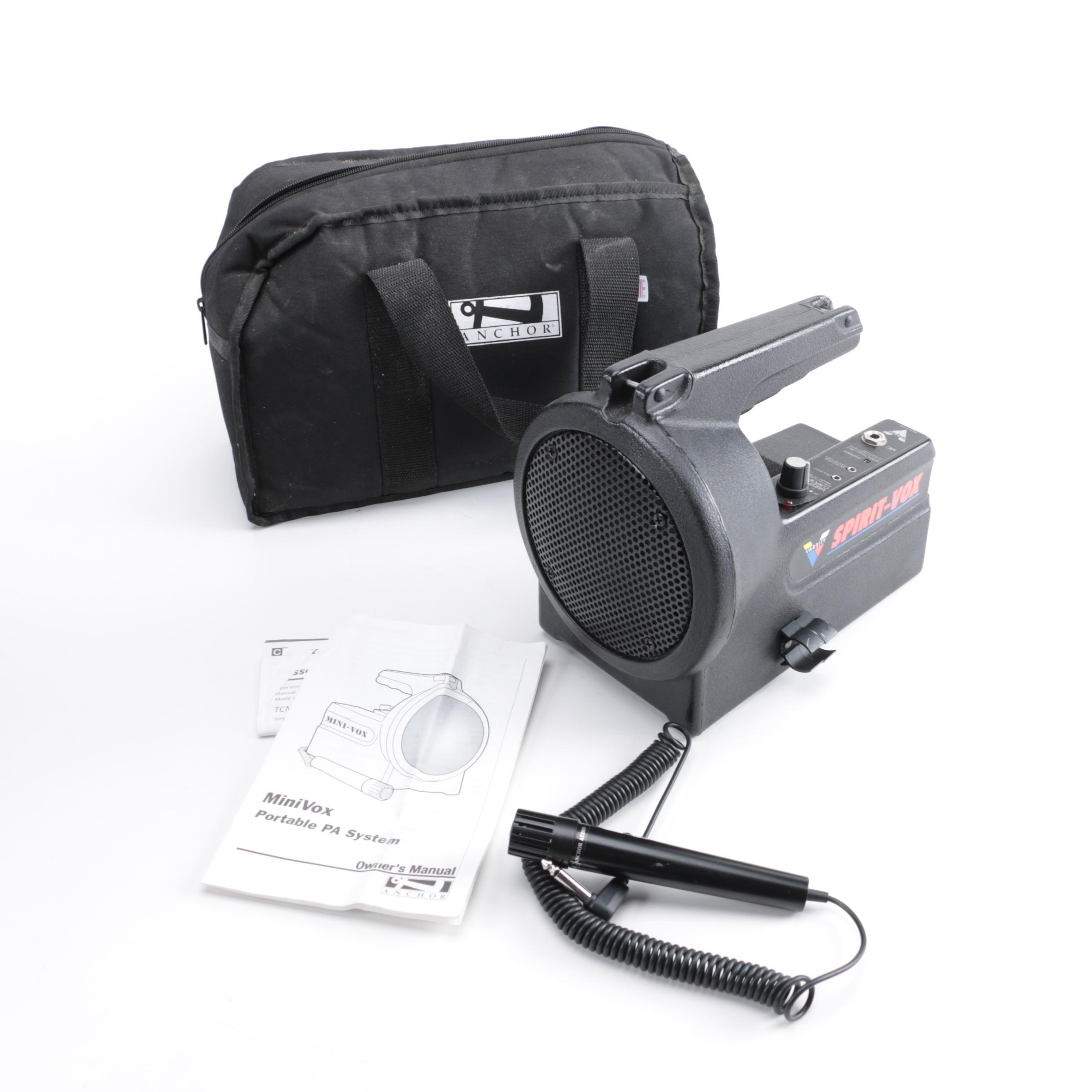 Mini Vox Portable PA System