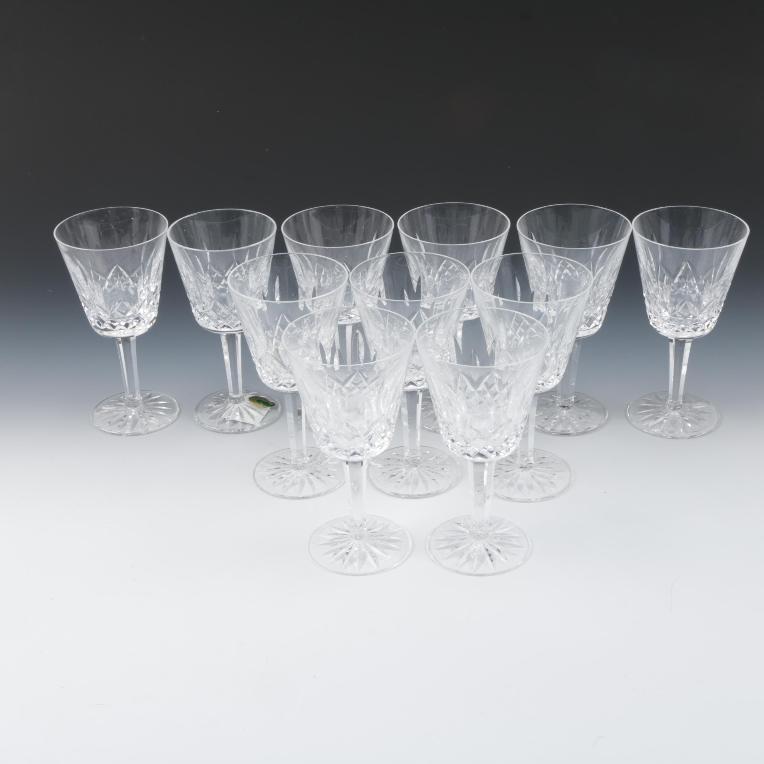 Waterford Crystal 'Lismore' Claret Set