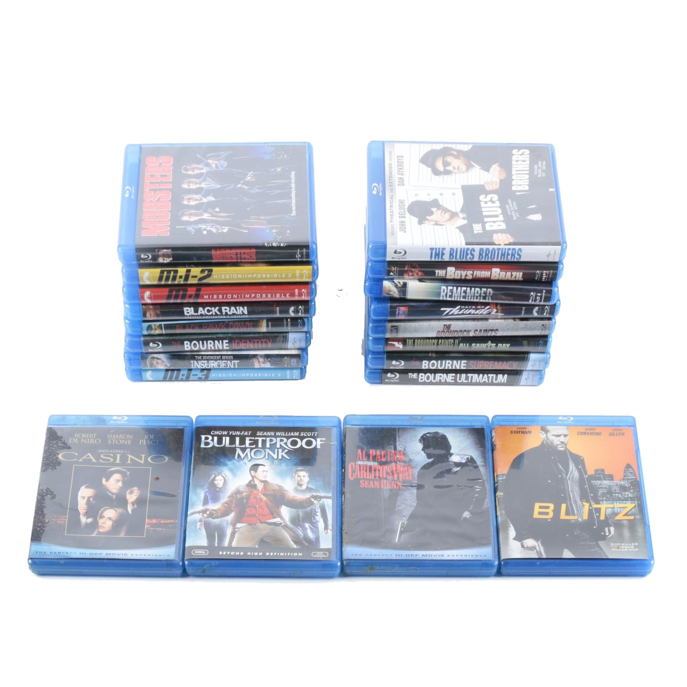 Assortment of Blu-Ray Discs