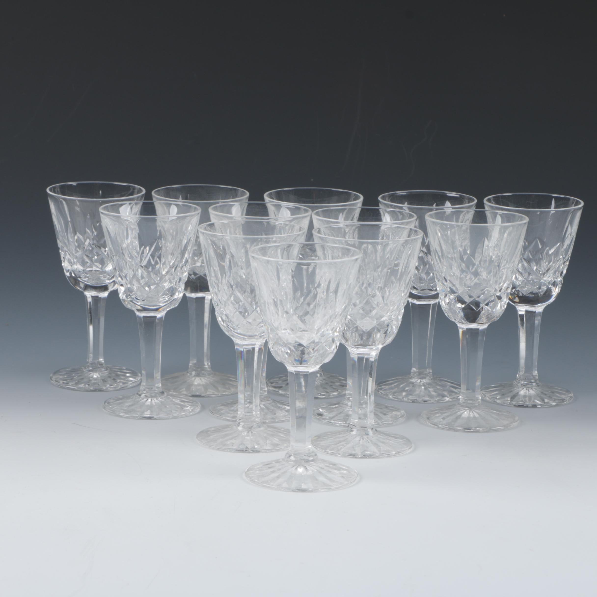 Waterford Crystal 'Lismore' Claret Glasses