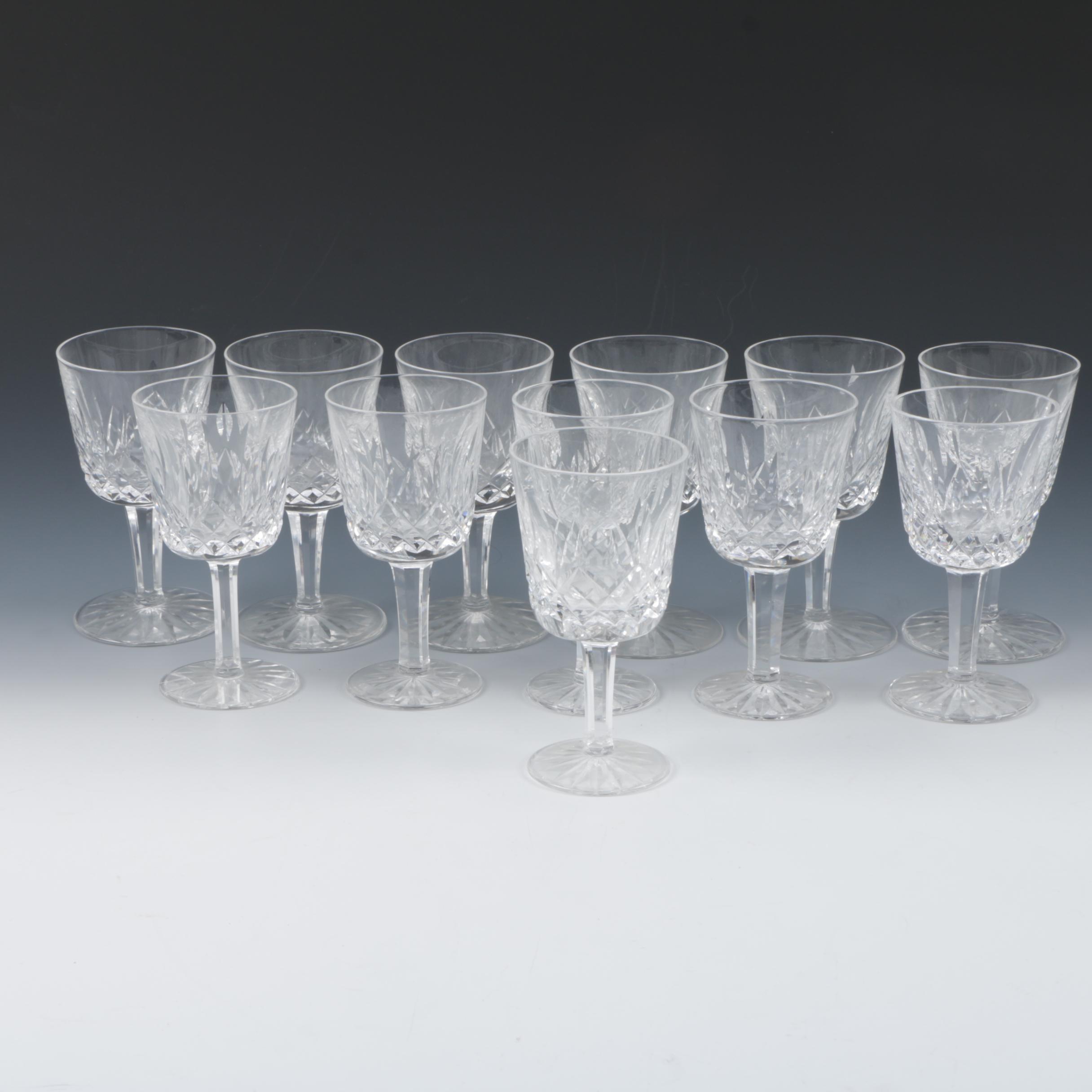 Waterford Crystal 'Lismore' Port Glasses
