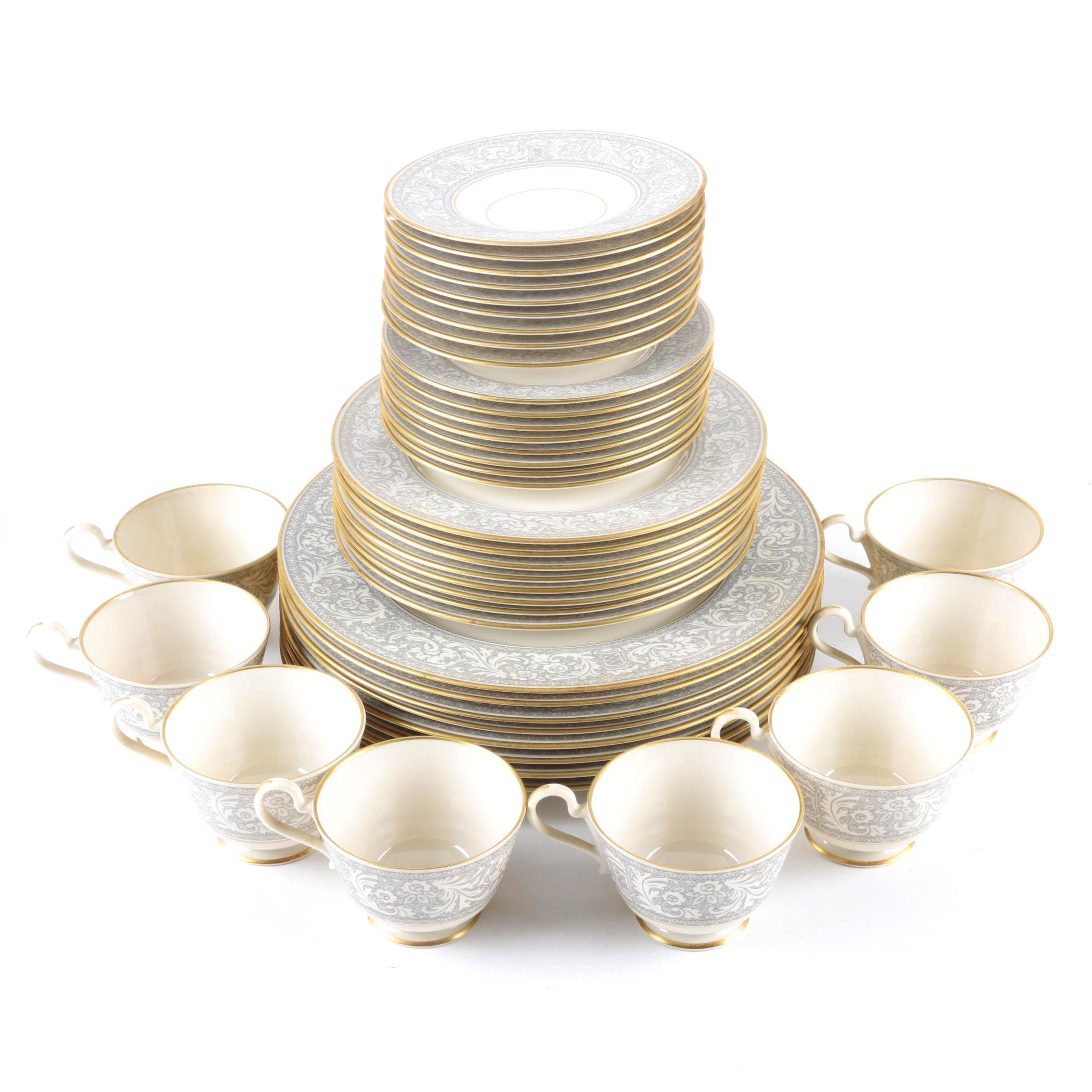 "Circa 1960s Franciscan ""Renaissance"" Porcelain Tableware"