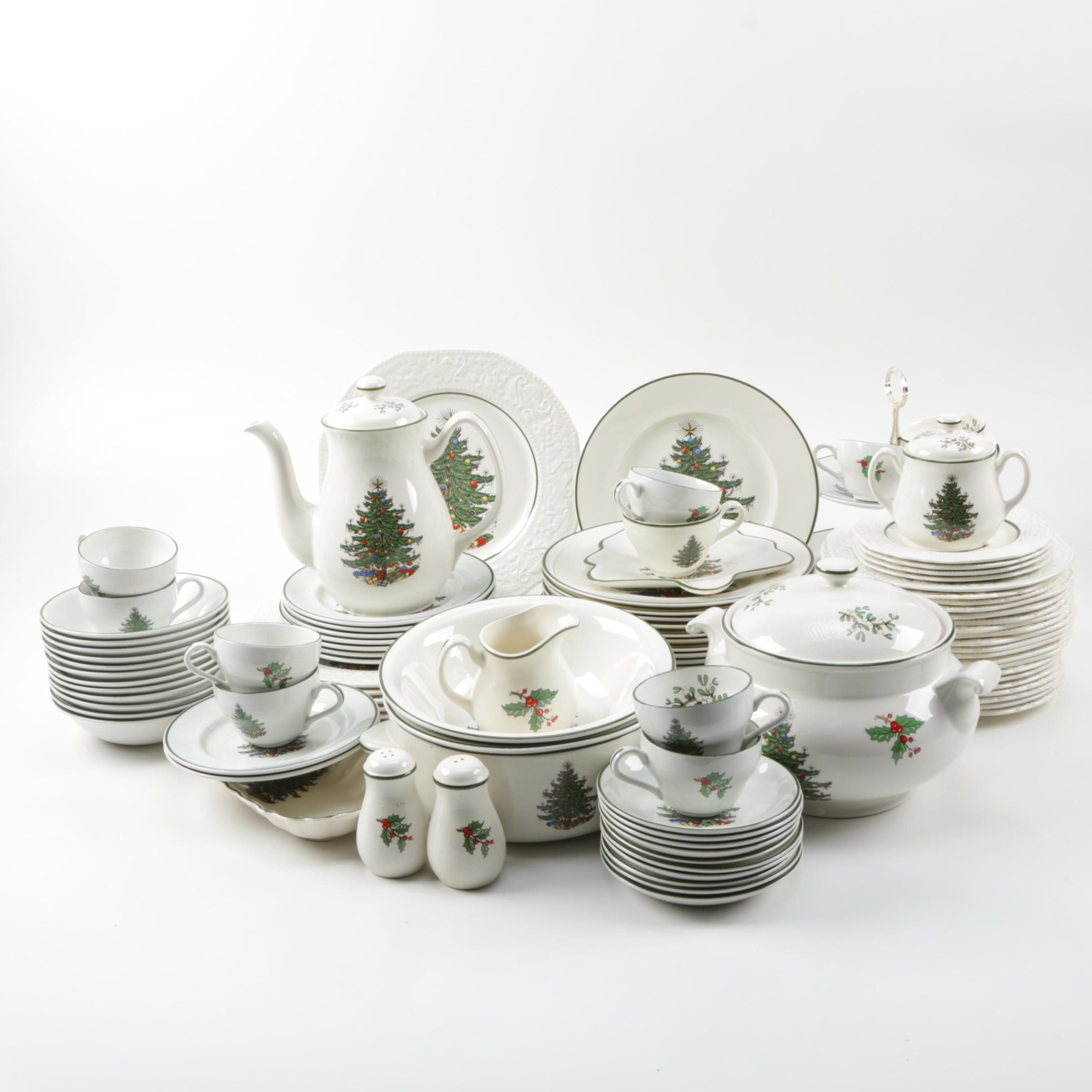 Cuthbertson 'Original Christmas Tree' China Set