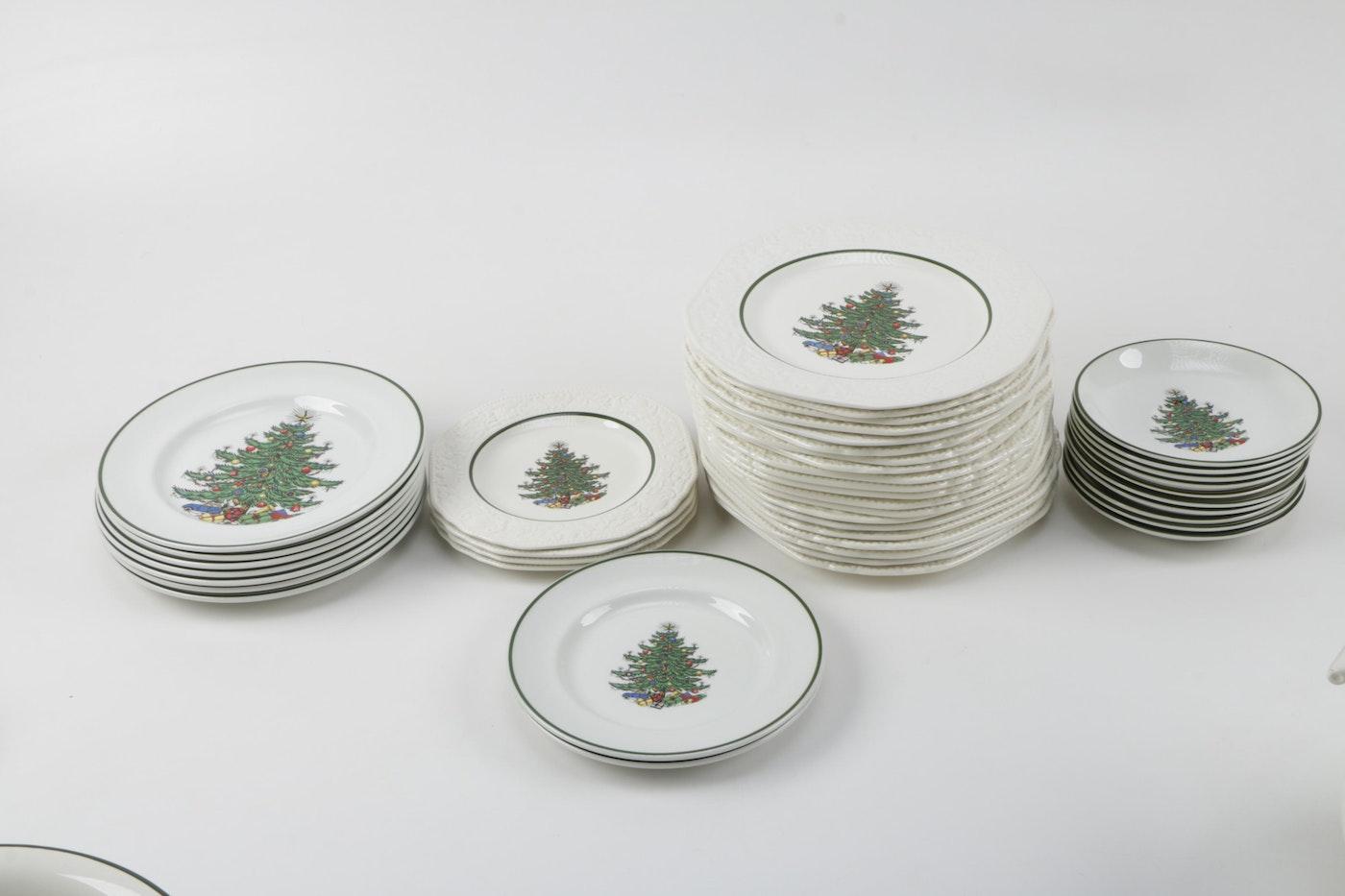 Cuthbertson 'Original Christmas Tree' China Set   EBTH