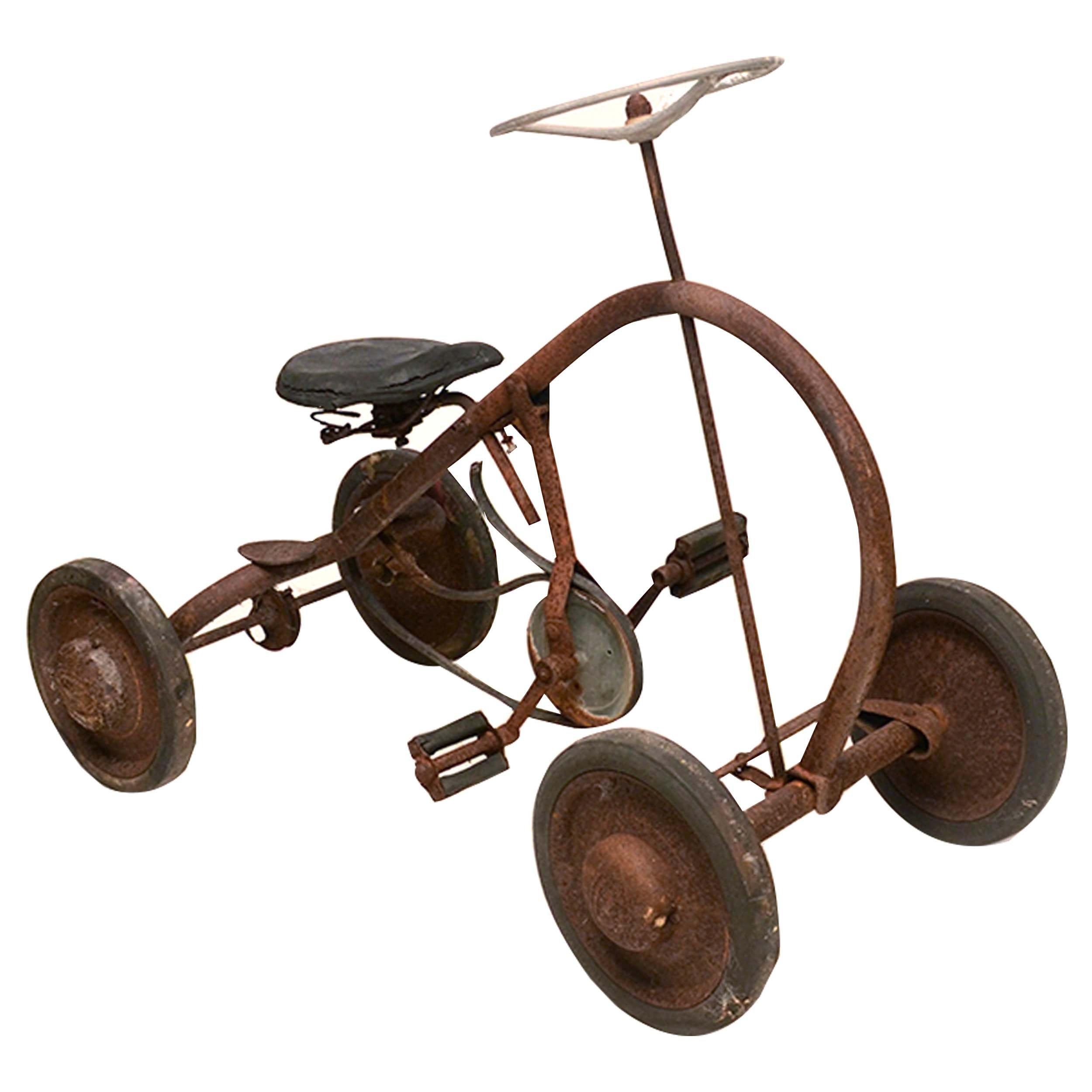Vintage Children's Quadricycle