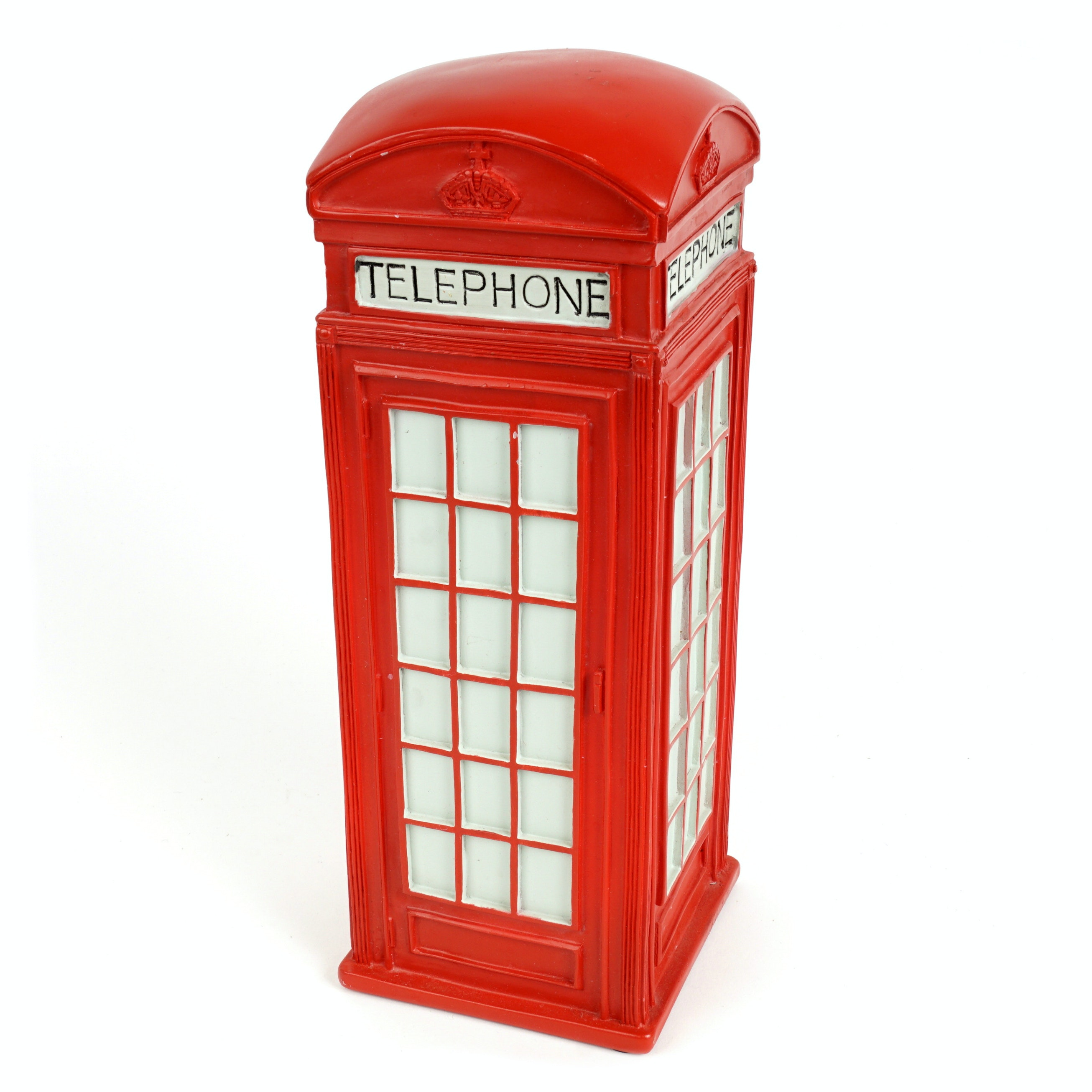British Telephone Booth Figurine