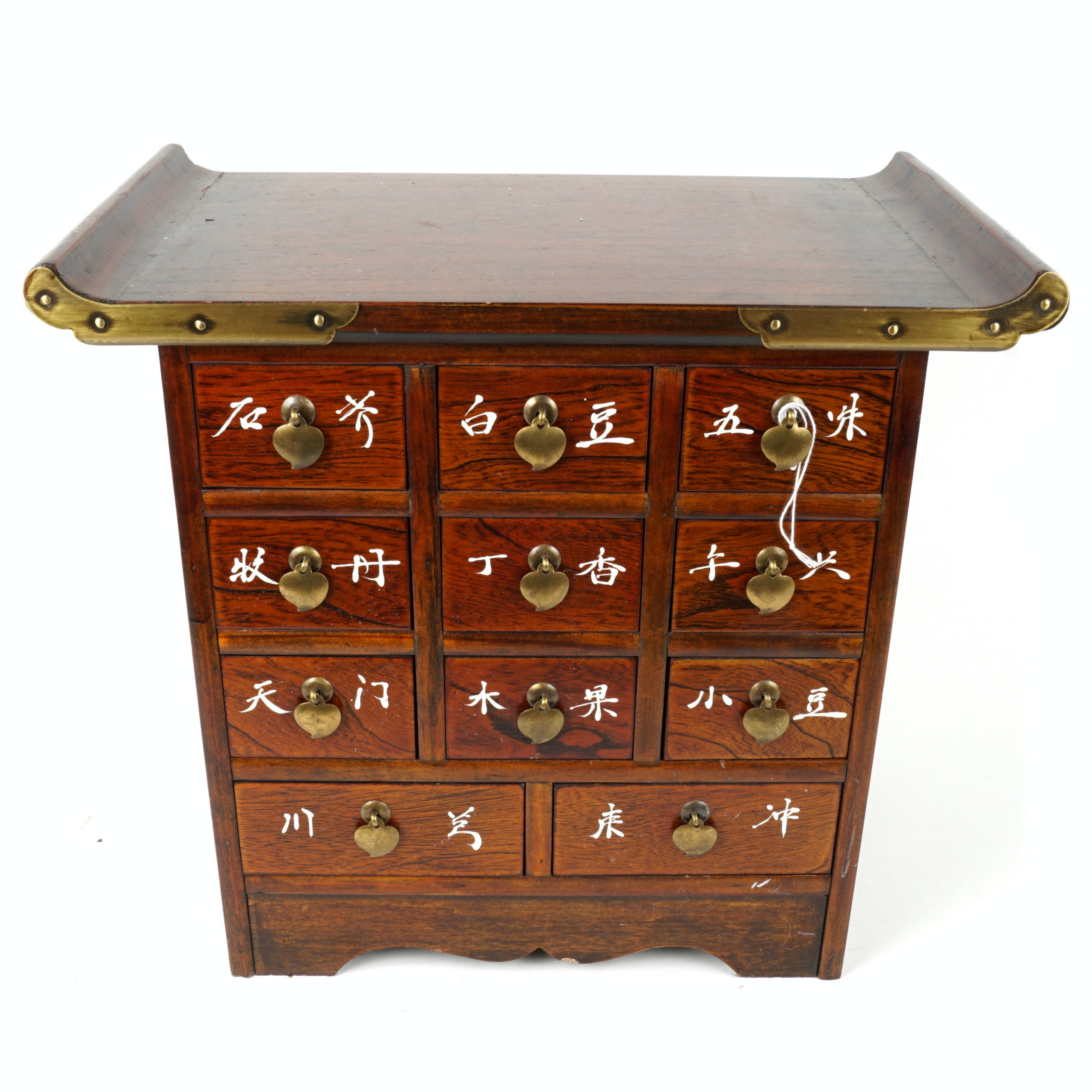East Asian Style Small Apothecary Tabletop Chest