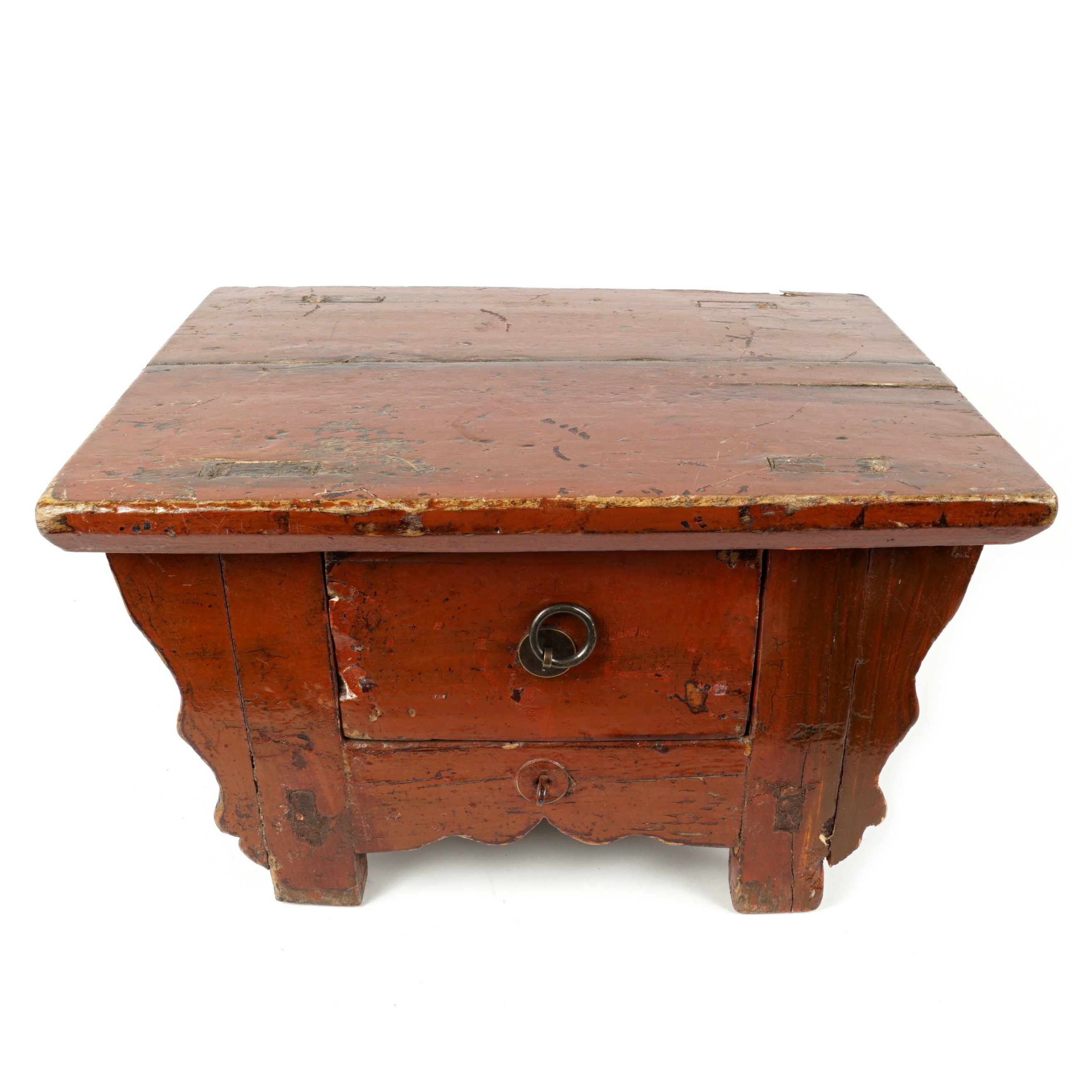 Antique Chinese One-Drawer Stand
