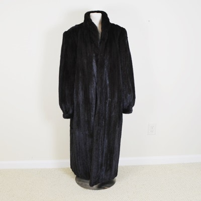 Stanley Rich Full Length Mink Coat