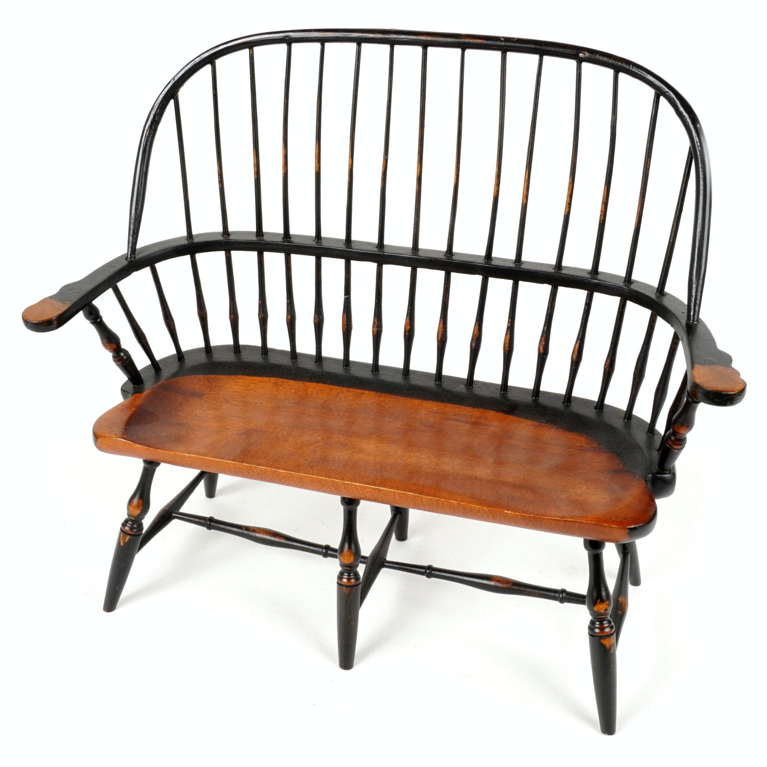 Vintage Windsor Bench