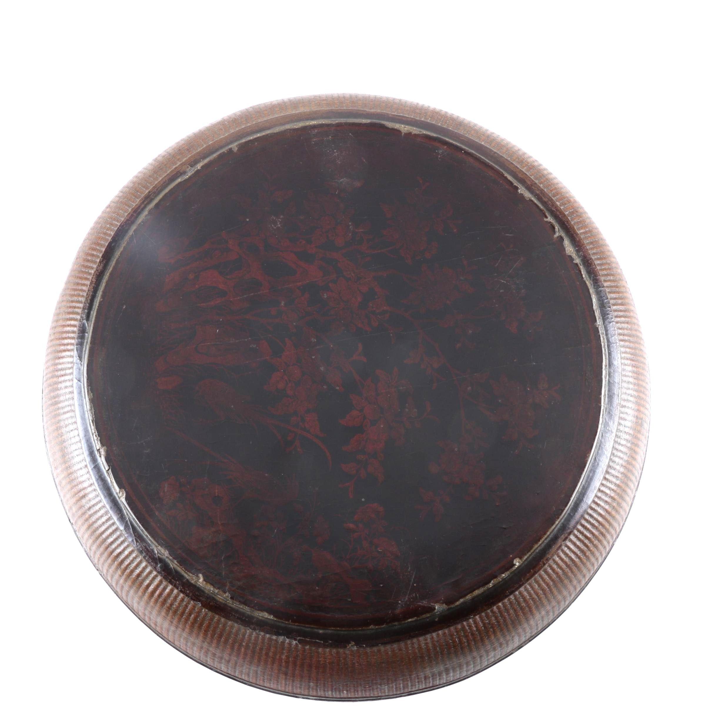 East Asian Brown Wooden Dumpling Warmer