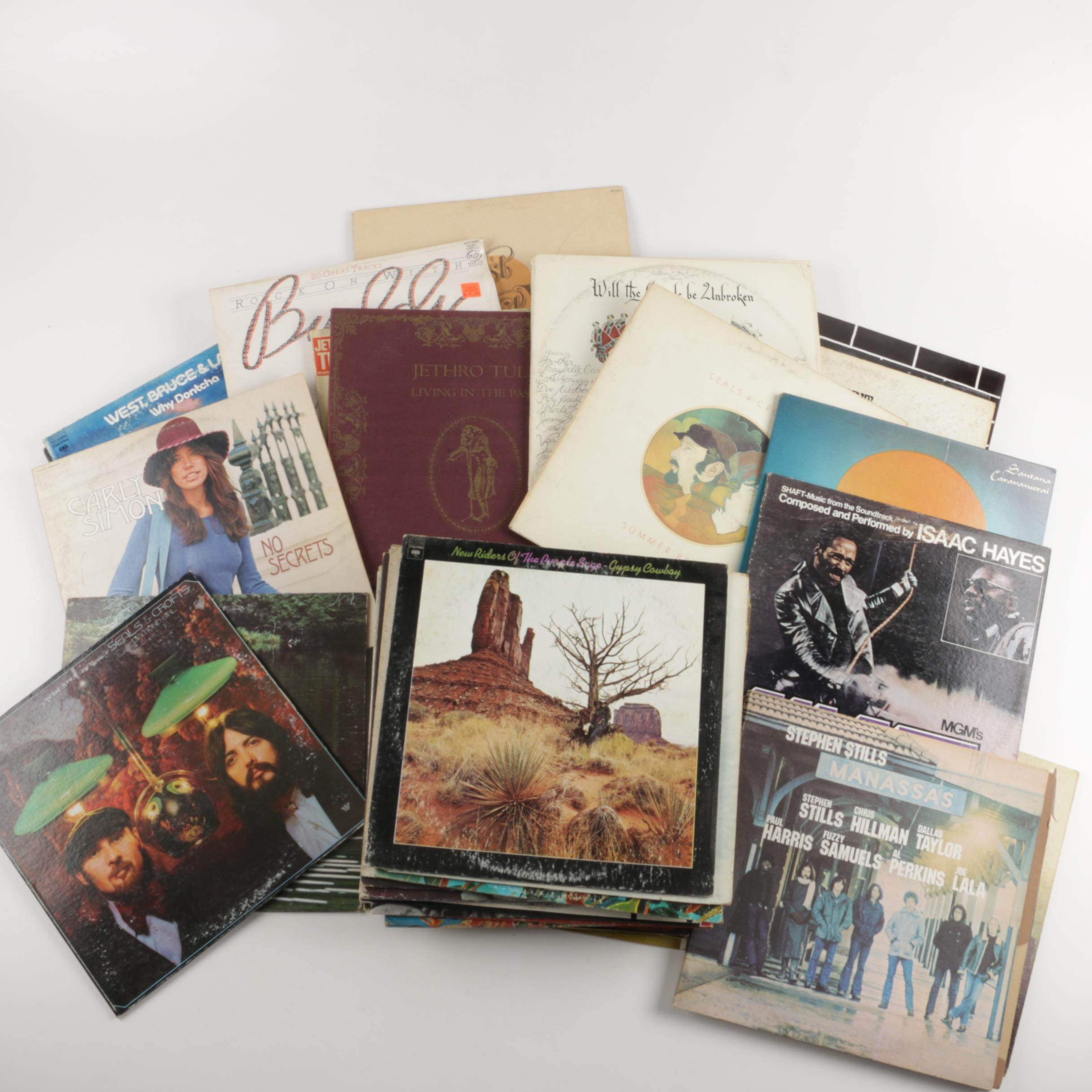 Hendrix, Grateful Dead, George Harrison, Other Classic Rock LPs