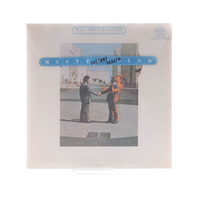"Pink Floyd ""Wish You Were Here"" Half-Speed Mastered Audiophile Pressing LP"