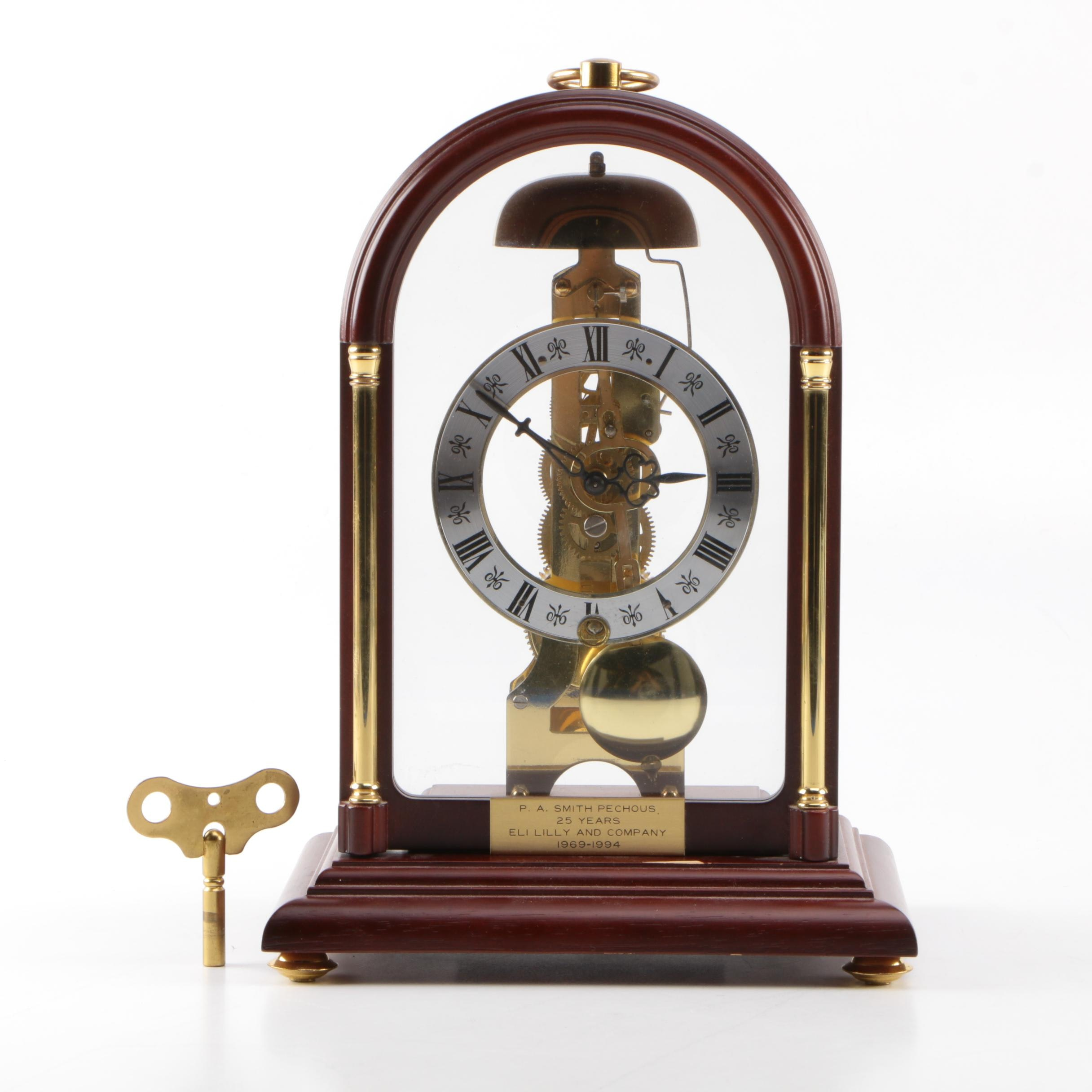 Franz Hermle German Mantel Clock