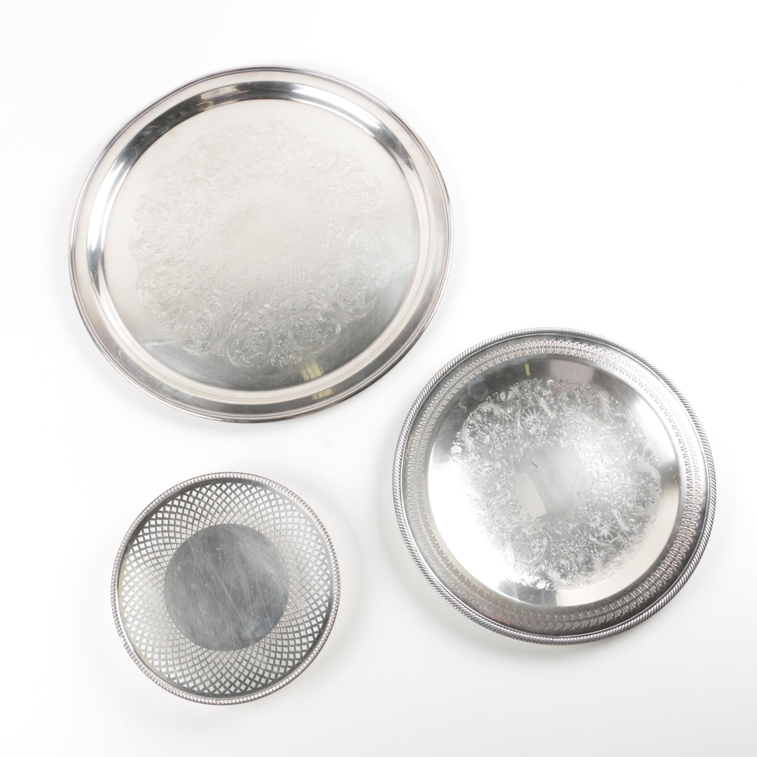 Silver Plated Platters