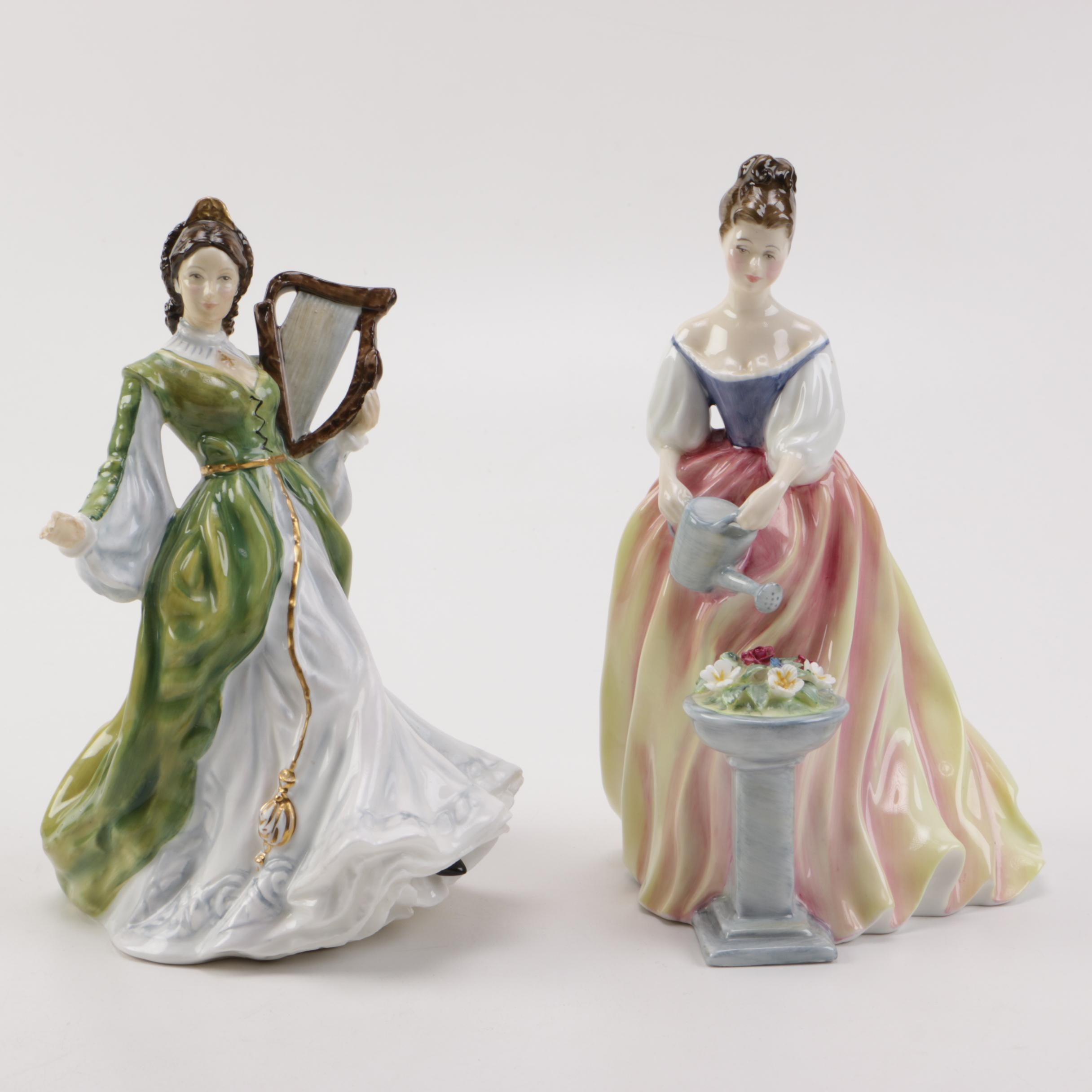 "Royal Doulton Figurines Including ""Alexandra"""
