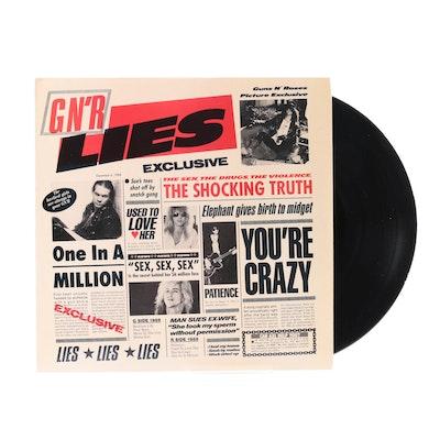 """Guns N Roses """"G N'R Lies"""" Club Edition Pressing LP"""