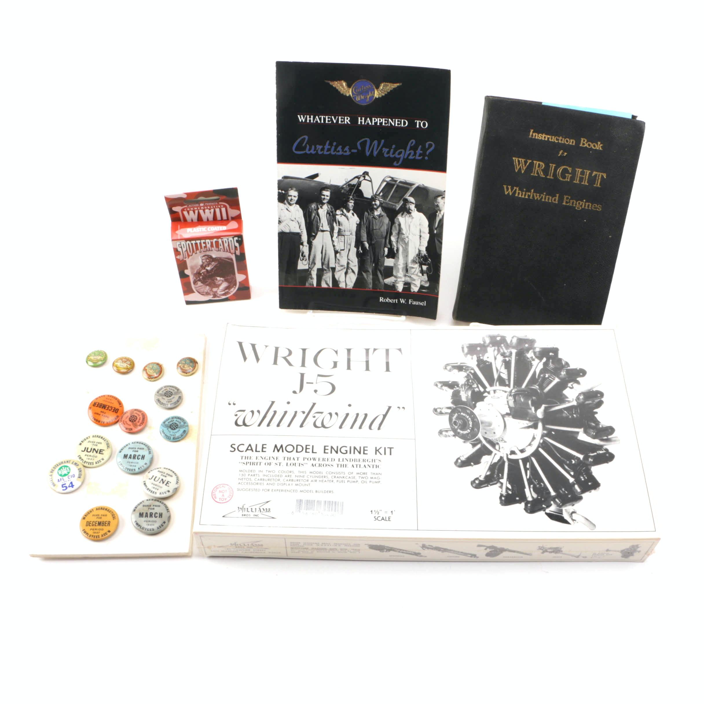 Curtiss-Wright Books and Memorabilia