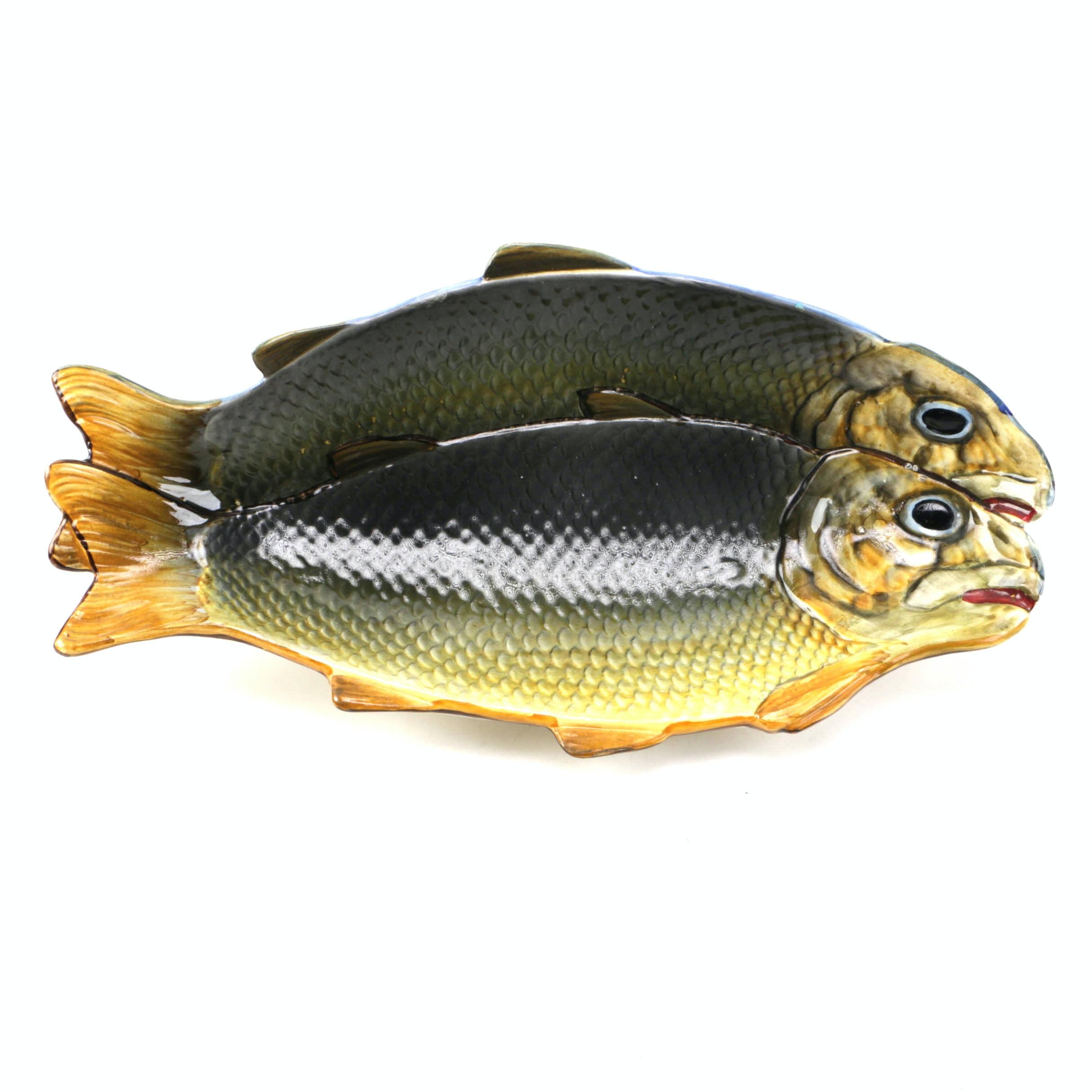 Hispania Ceramic Fish Serving Platter