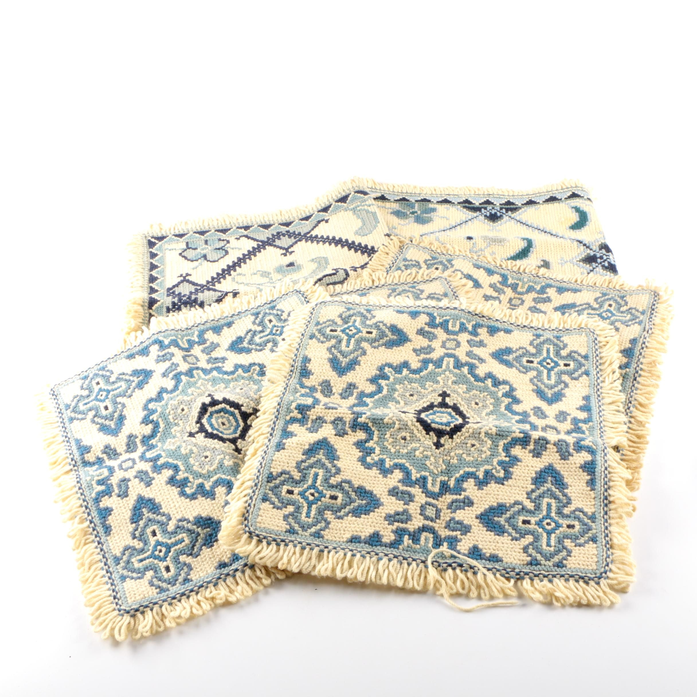 Hand-Stitched Decorative Mats