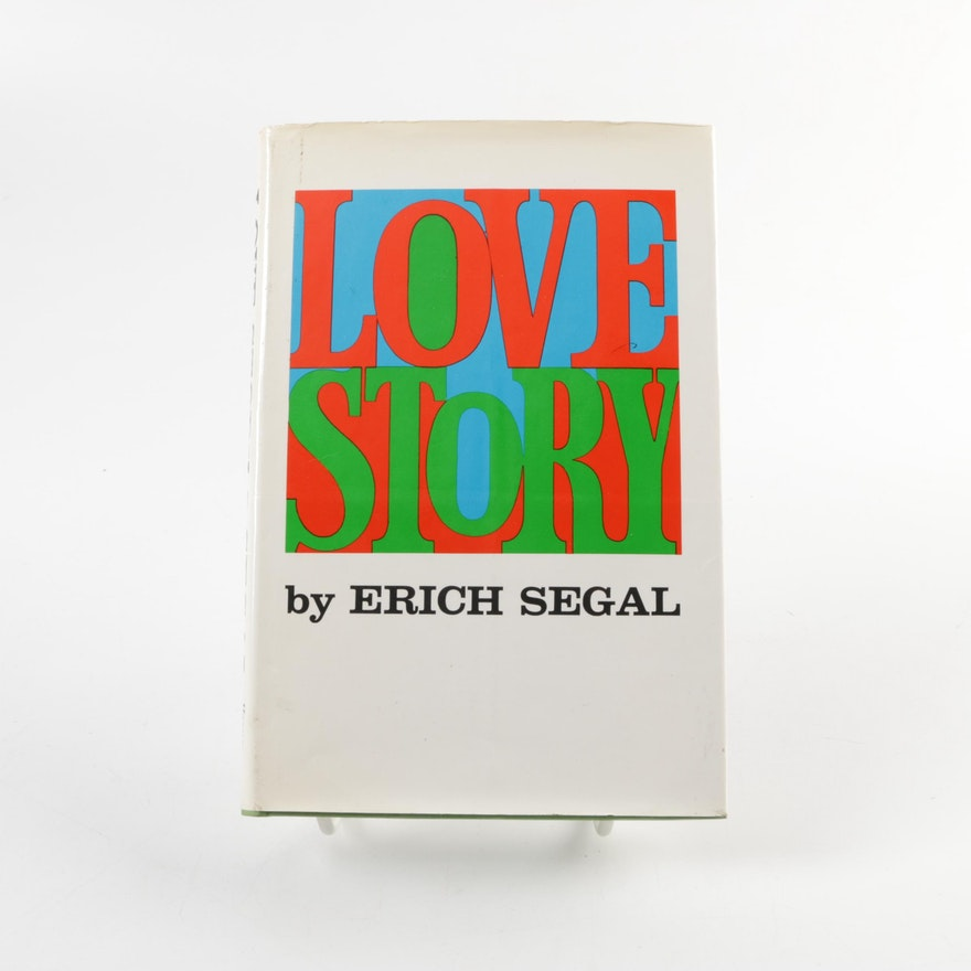 1970 Signed First Edition Love Story By Erich Segal Ebth